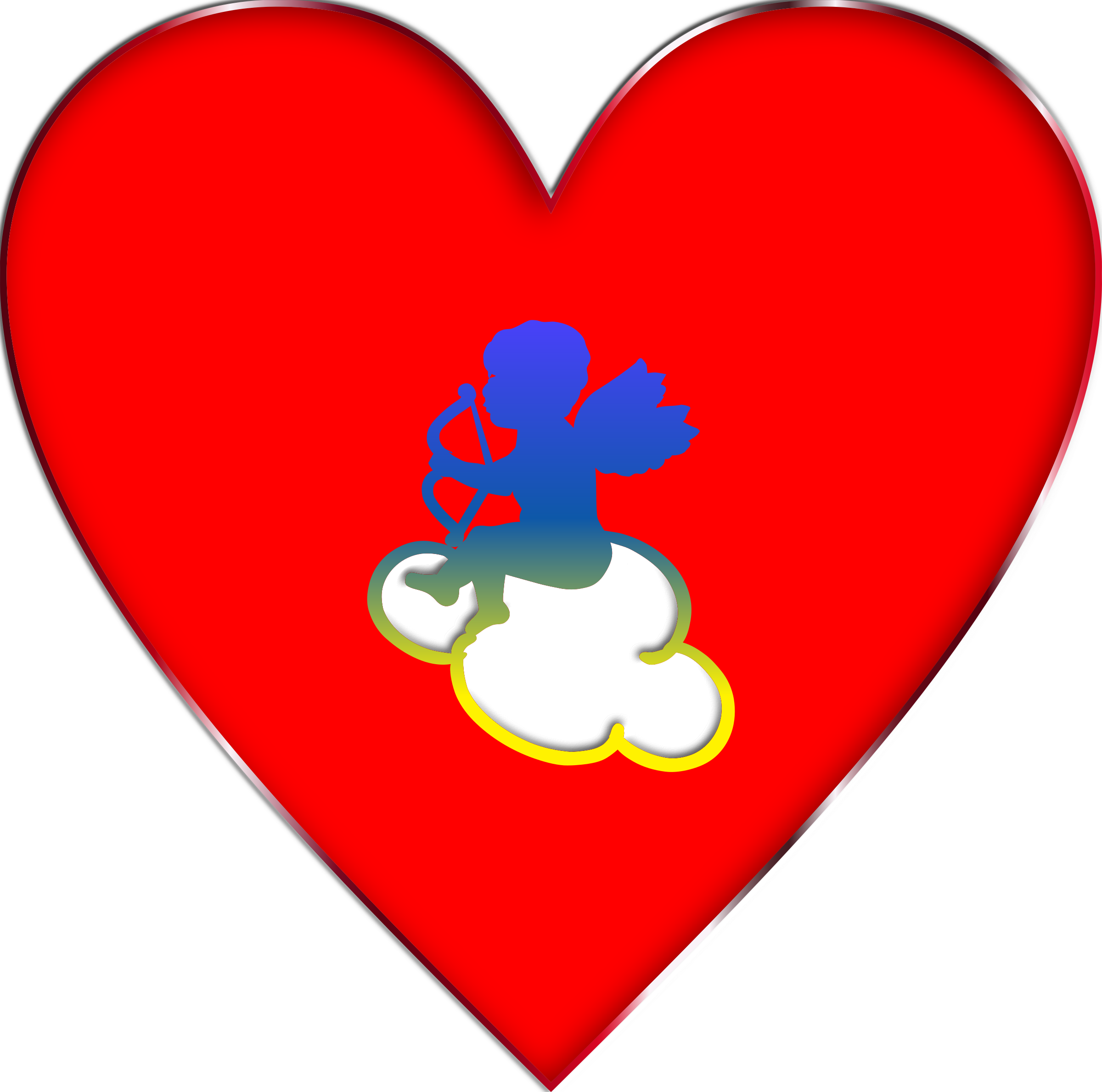 Cupid Heart Png | www.pixshark.com - Images Galleries With ...