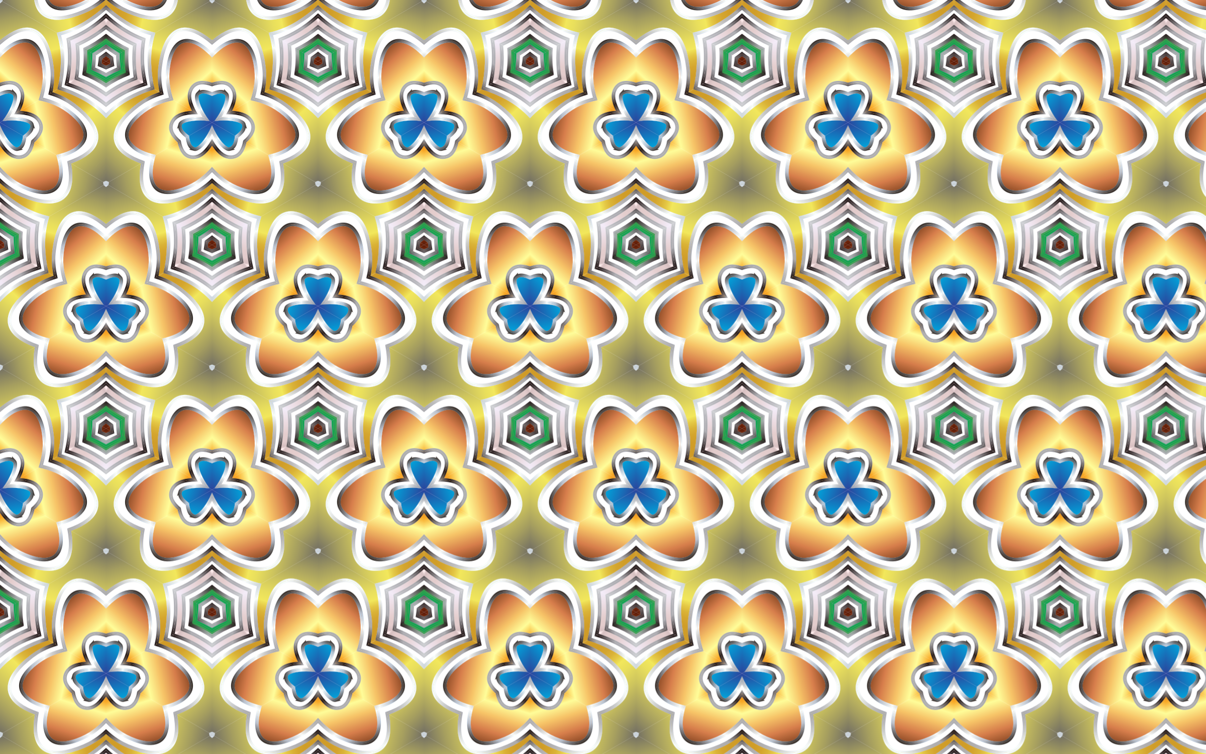 Seamless Pattern 15 by GDJ