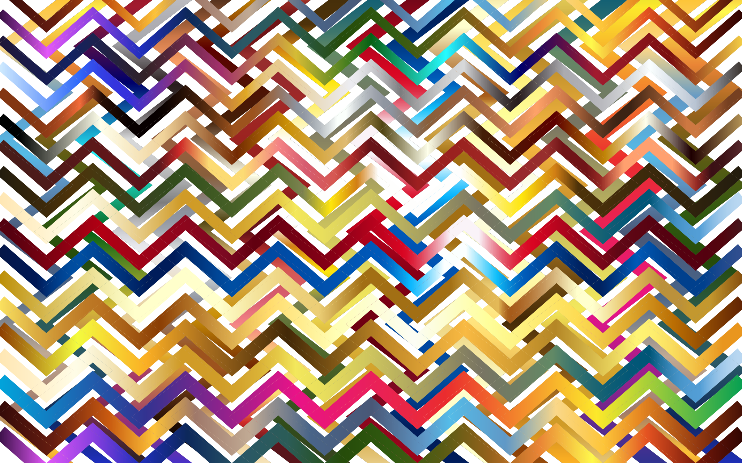Chevrons Pattern 2 by GDJ