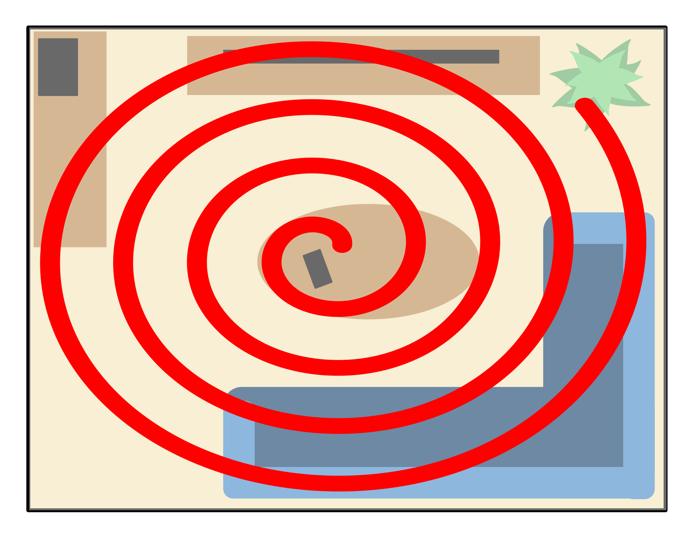 Spiral search pattern by Clon