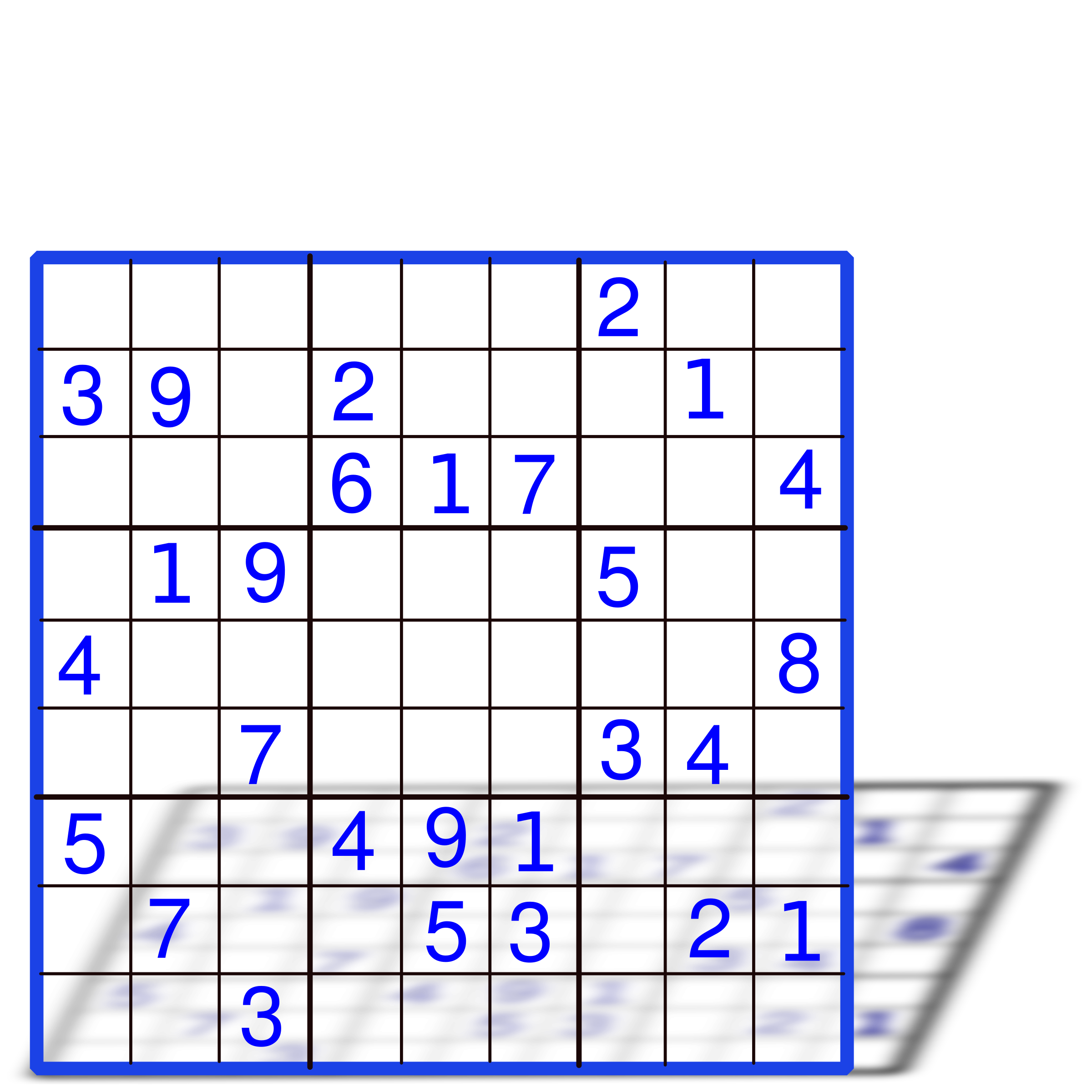 Sudoku with numbers by juanca700
