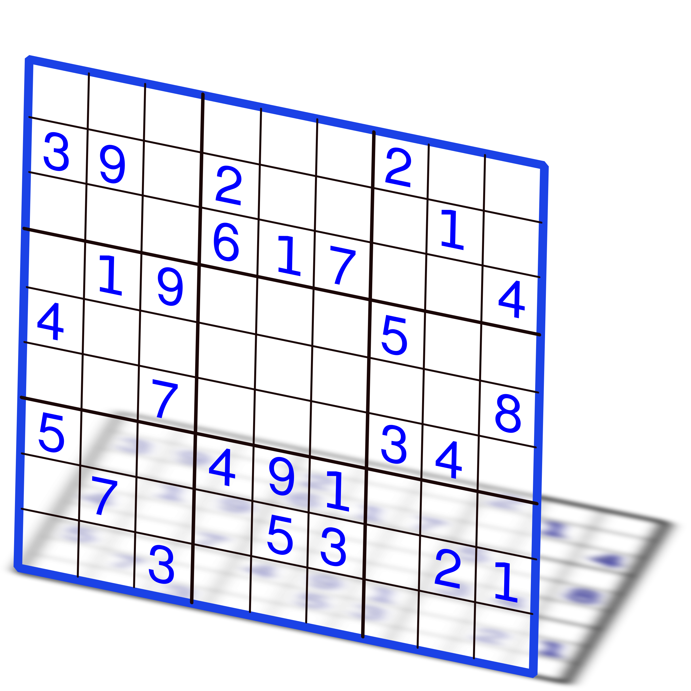 Sudoku with numbers 2 by juanca700