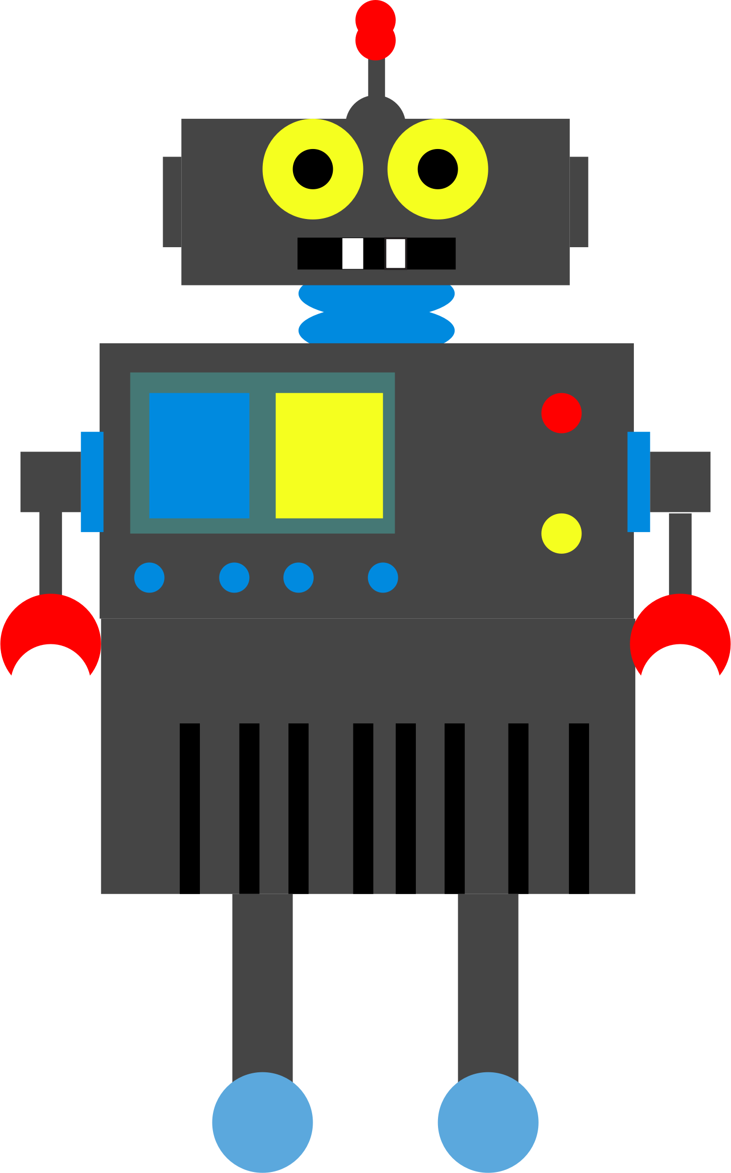 Robot by goqs2002
