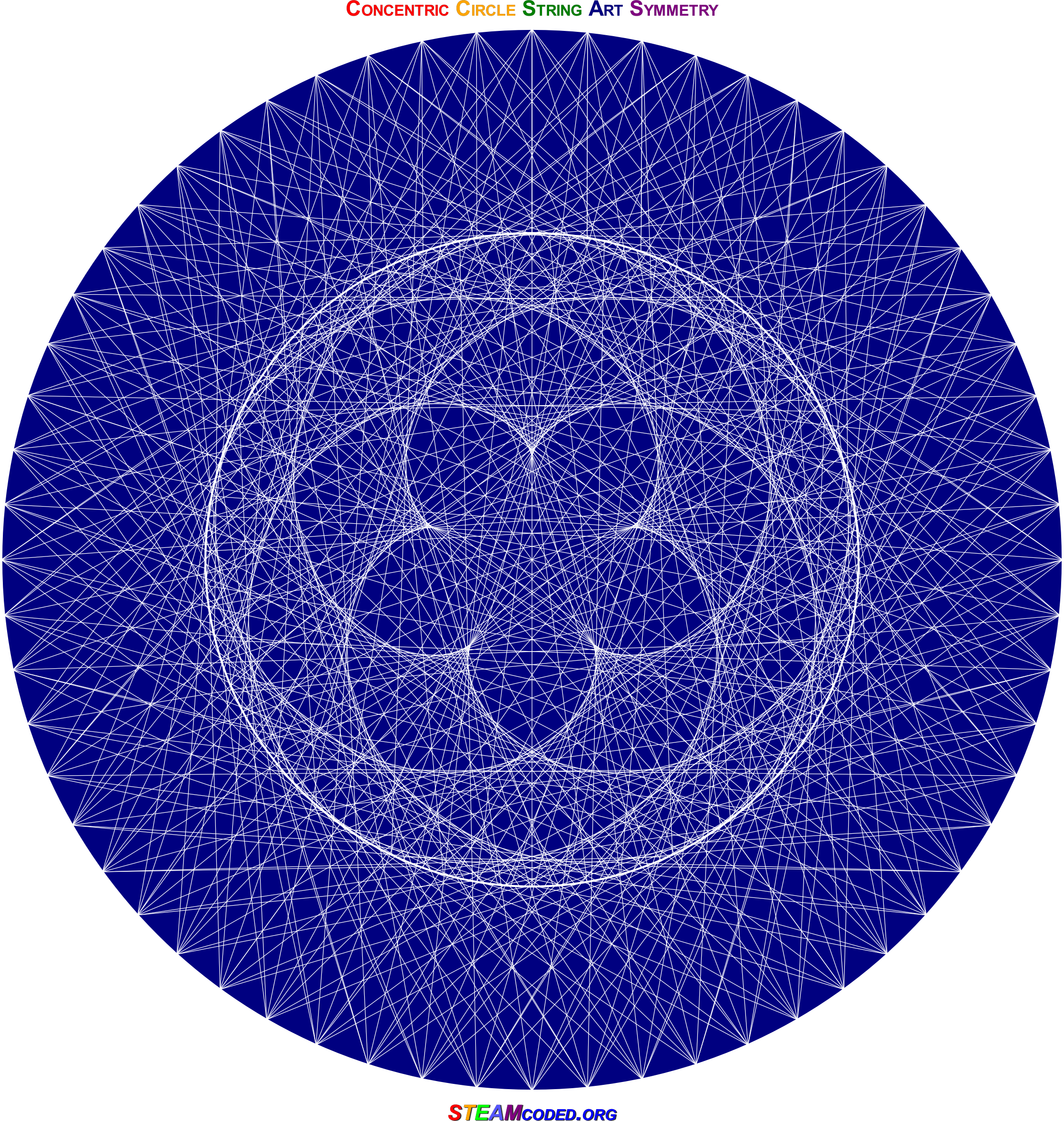 Concentric Circle Symmetry by JayNick