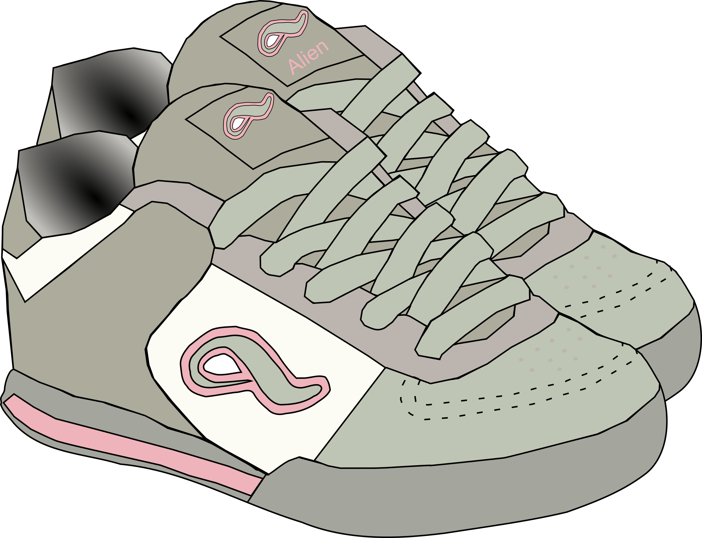 clipart shoes rh openclipart org free clipart of ladies shoes free clipart of running shoes