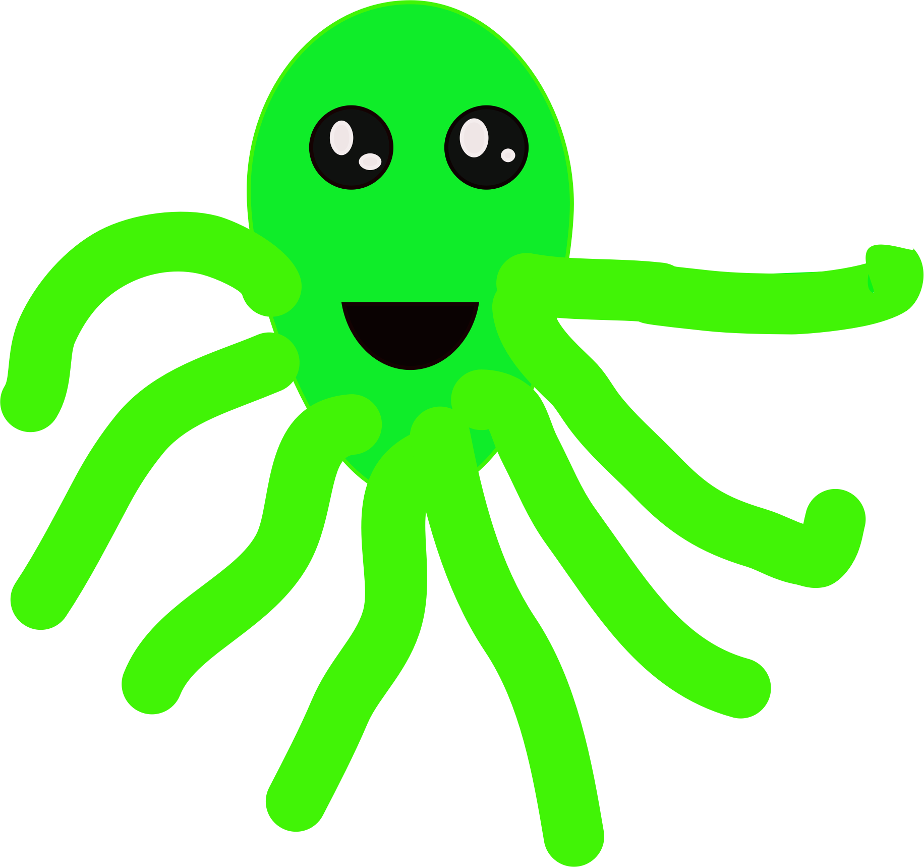 Octopus.svg by marshmallowkid