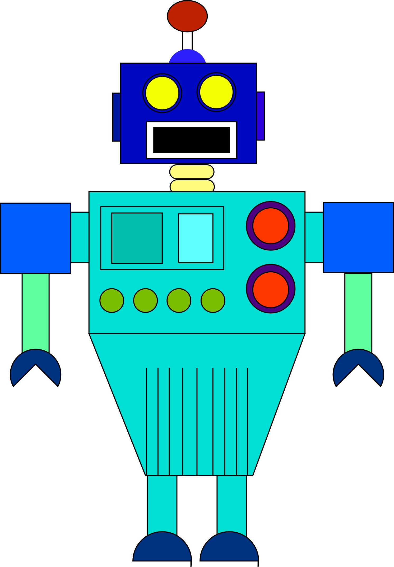Robot by ClipArtDefinition2002