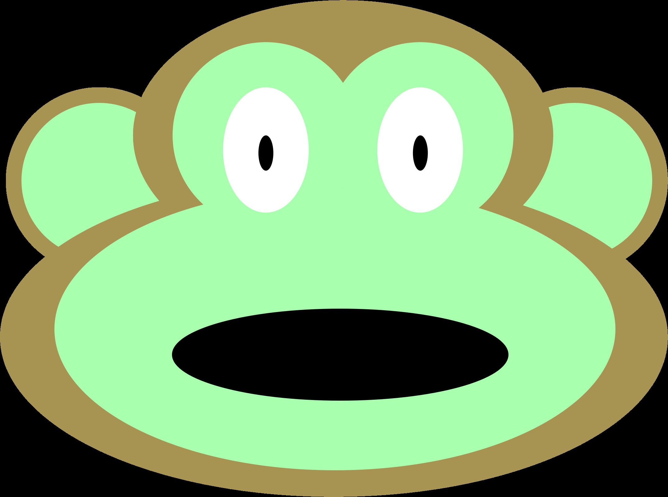 Clipart Monkey Face