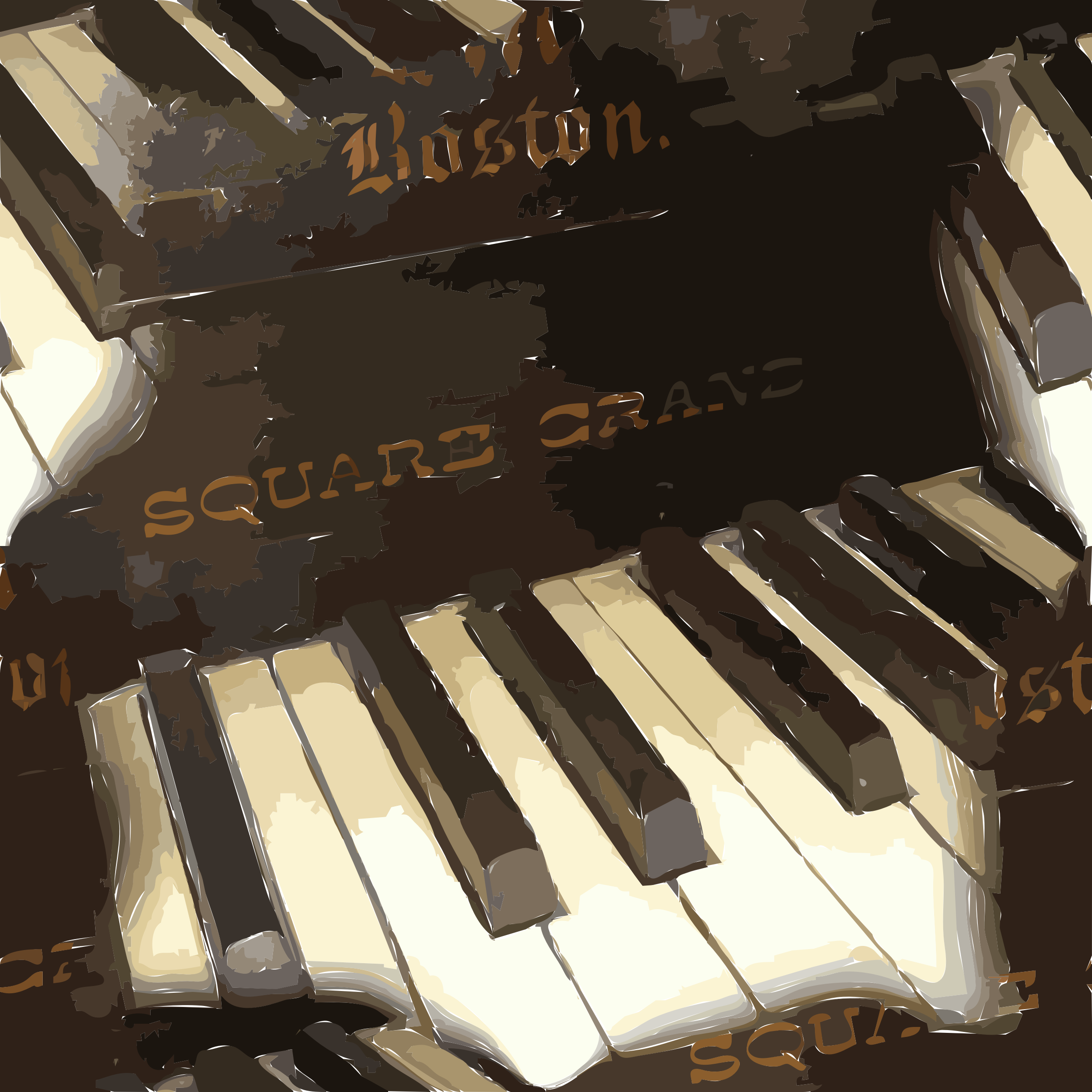 Piano Tile by jonphillips