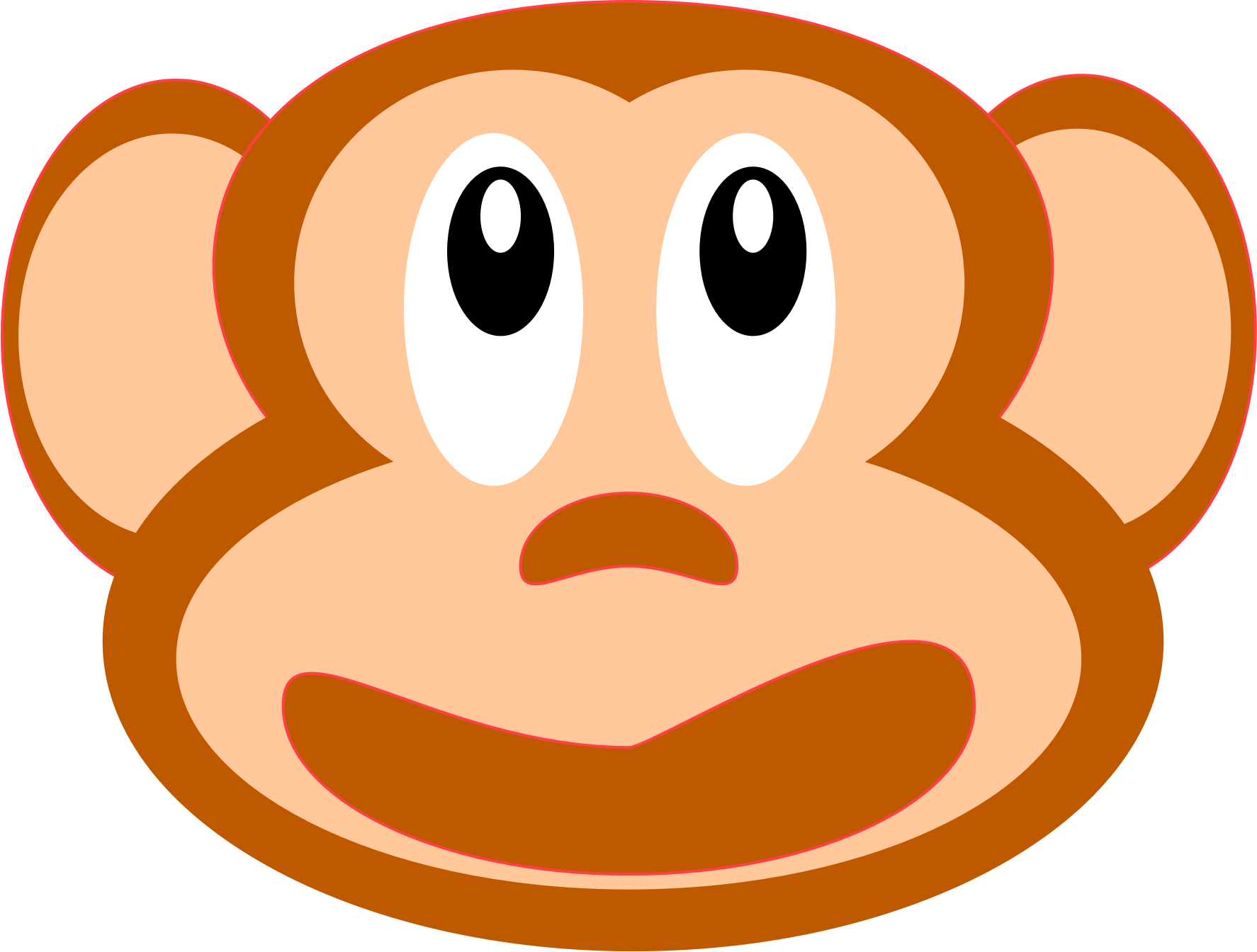 monkey face by kohrenkai