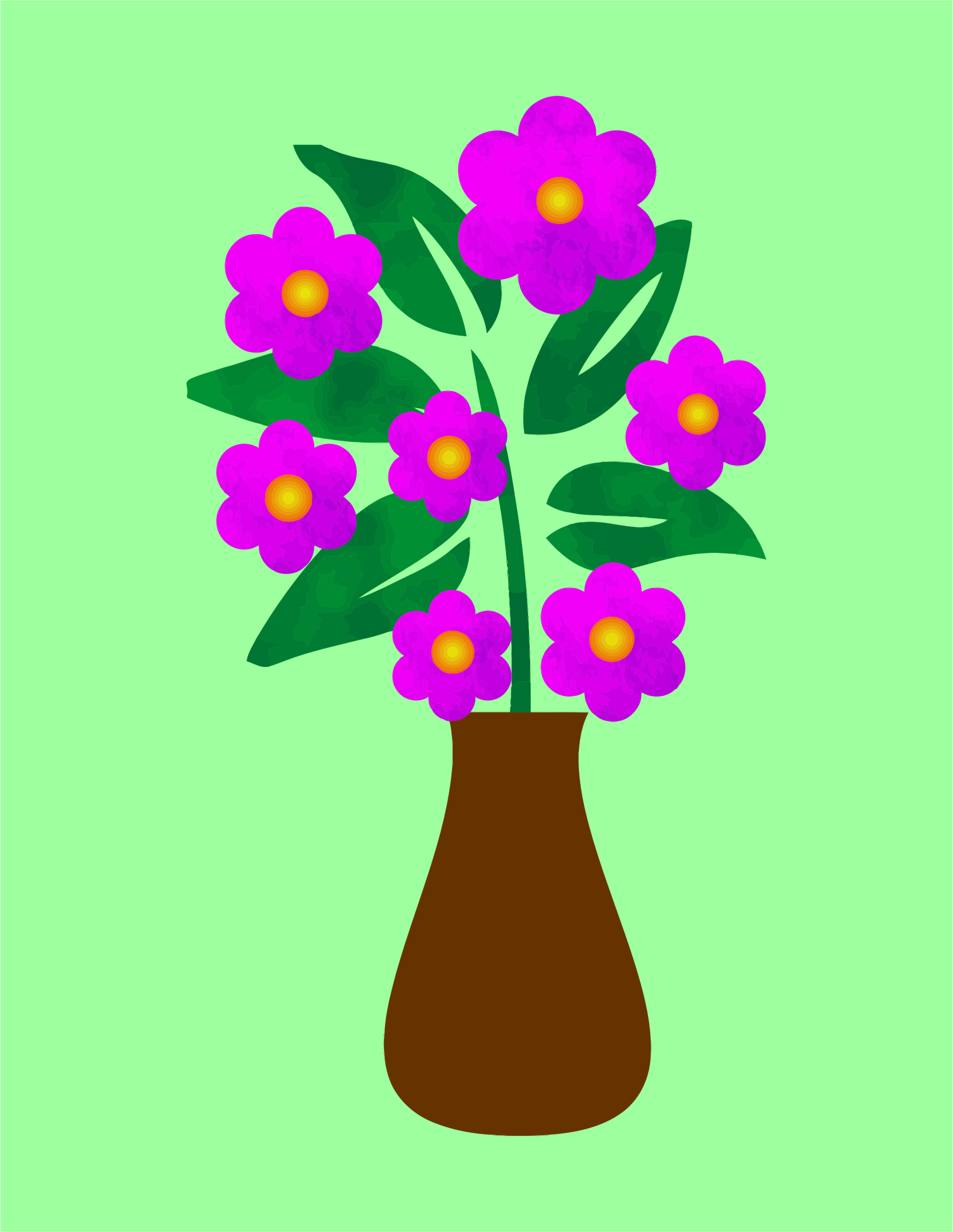 Clipart blue flowers in a vase blue flowers in a vase reviewsmspy