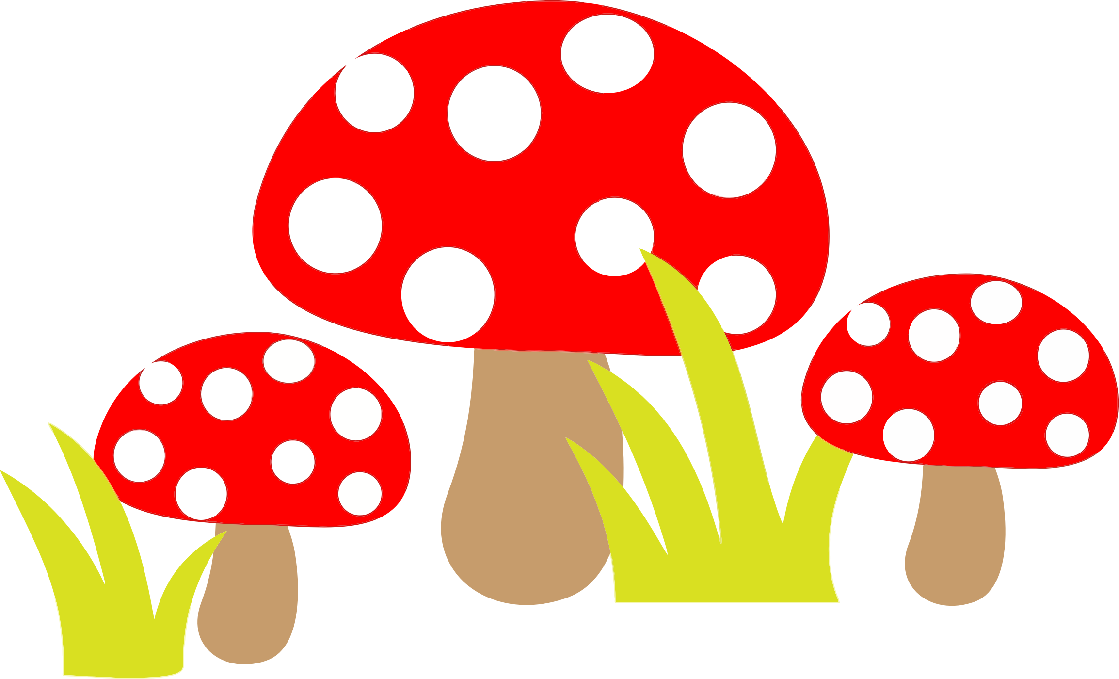 Toadstools by GDJ