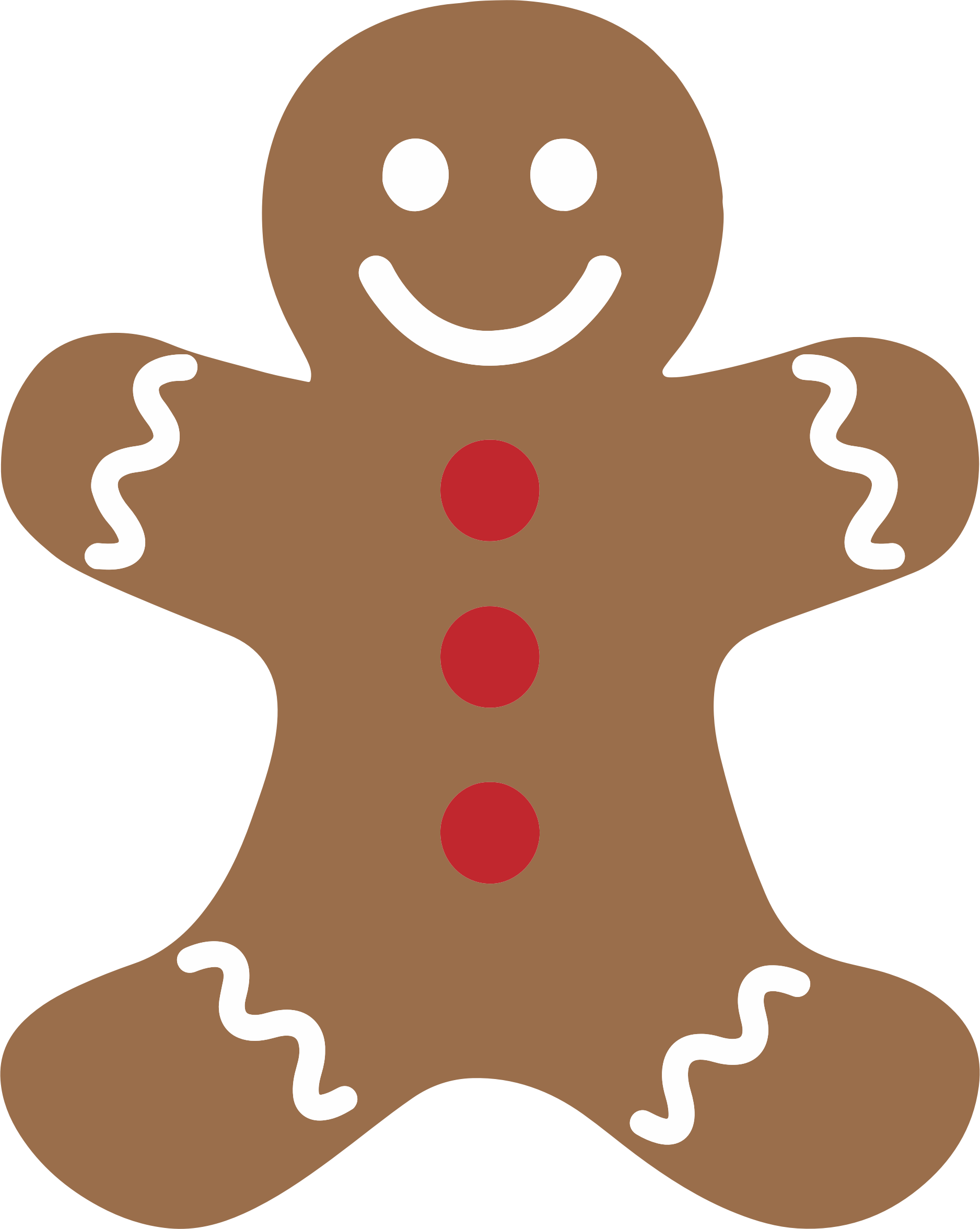 Gingerbread Man by GDJ