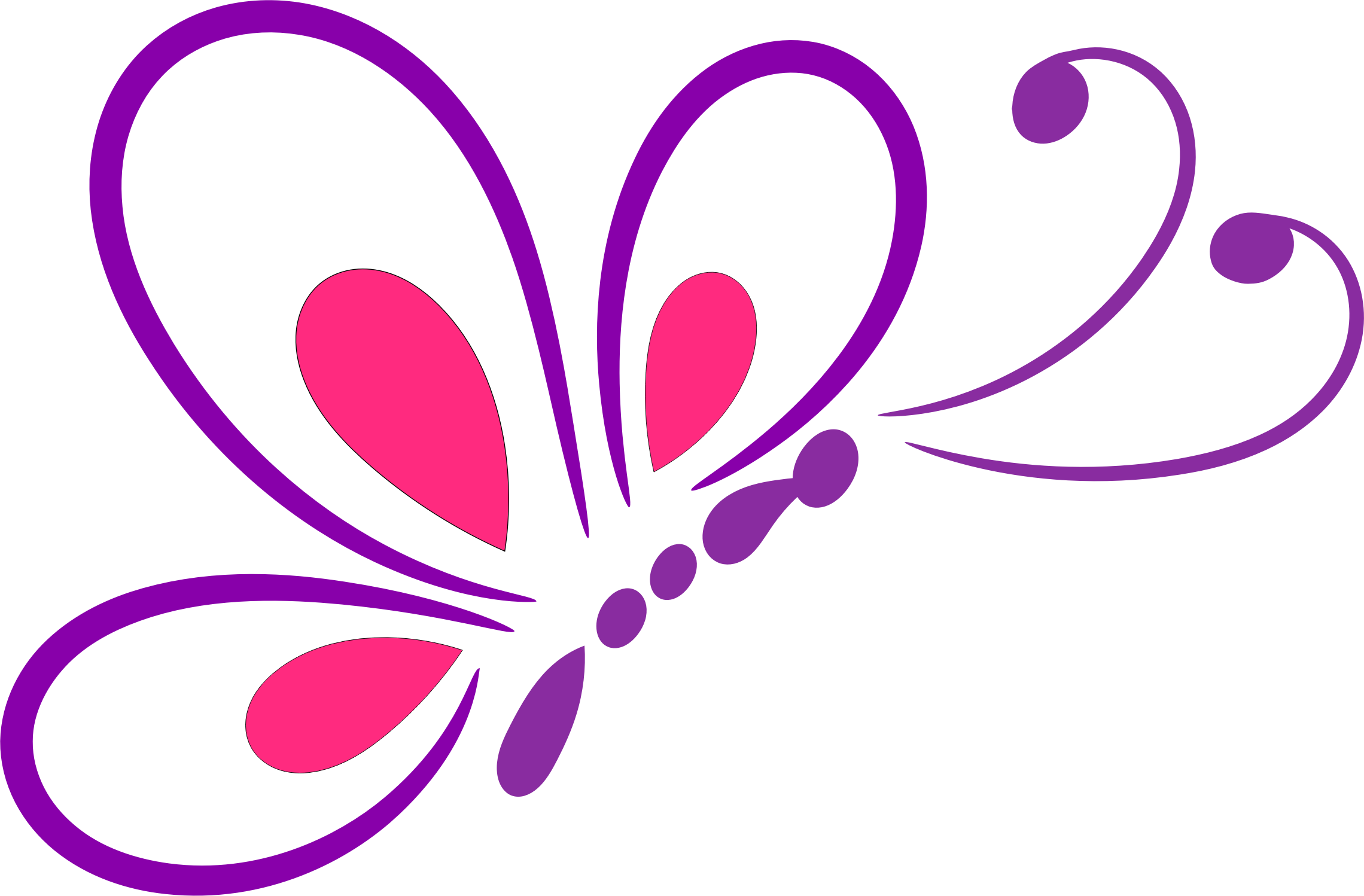 Line Art Butterfly : Butterfly vector png