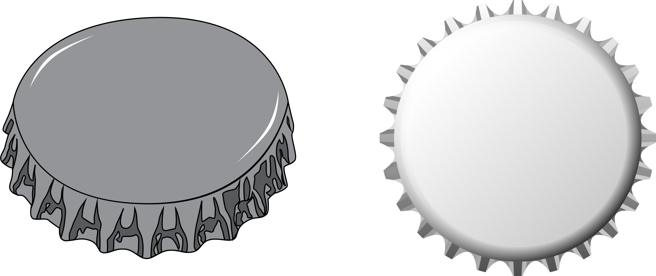 Clipart - Bottle Caps