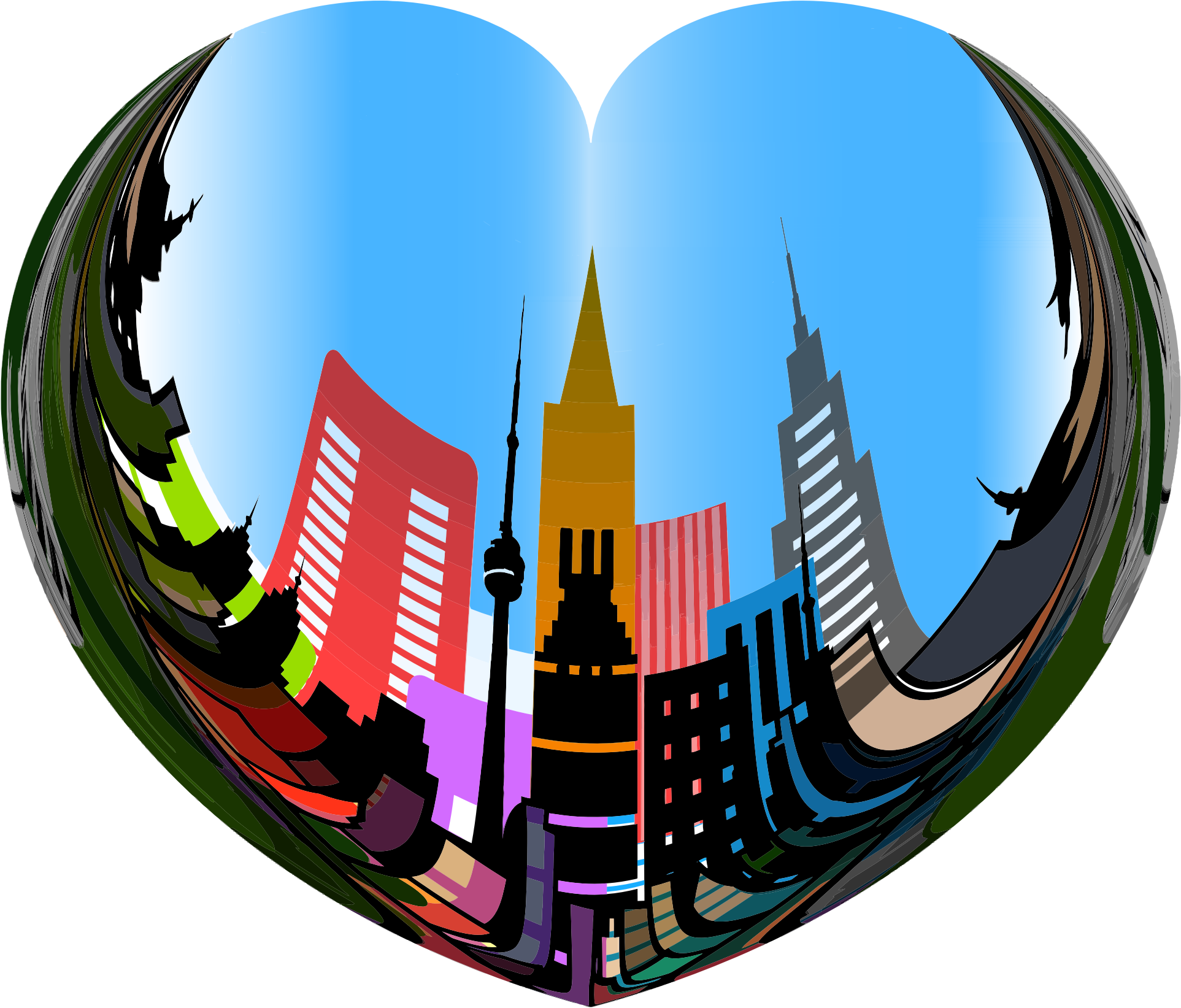 Heart Of The City by GDJ