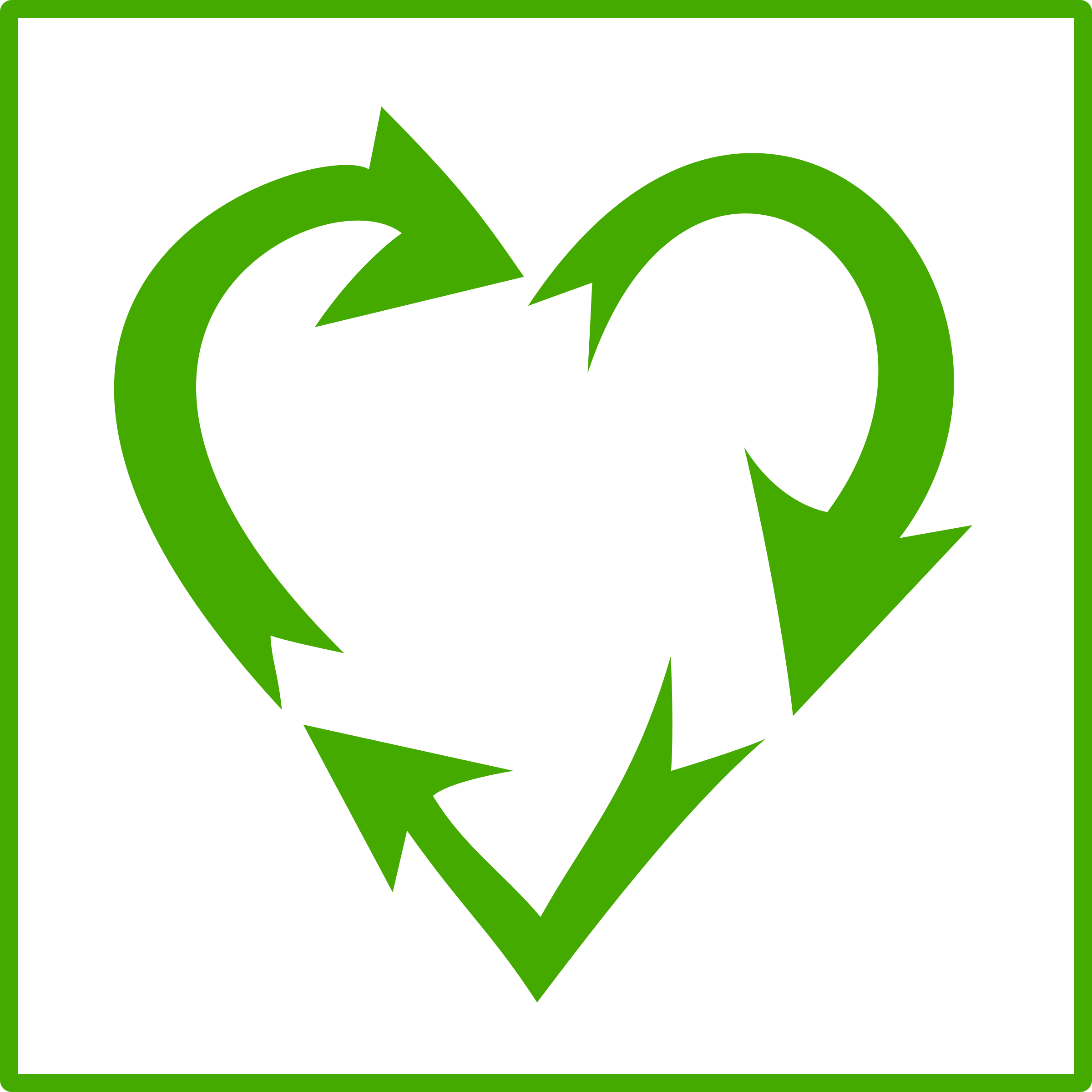 recycle heart by amites