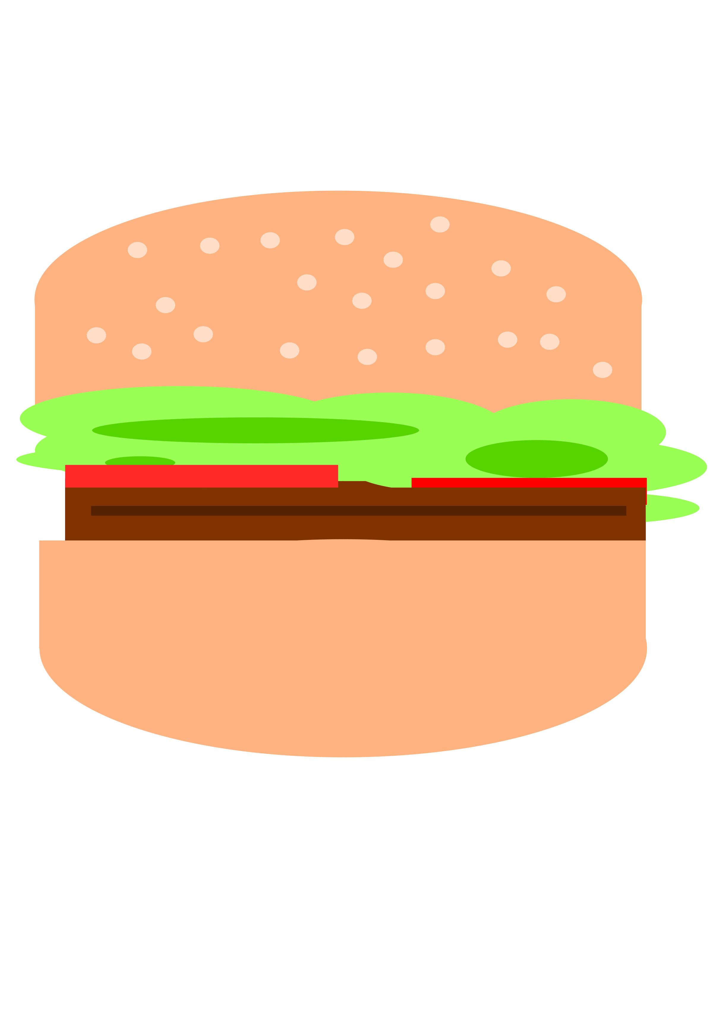 Simple hamburger by Magnesus