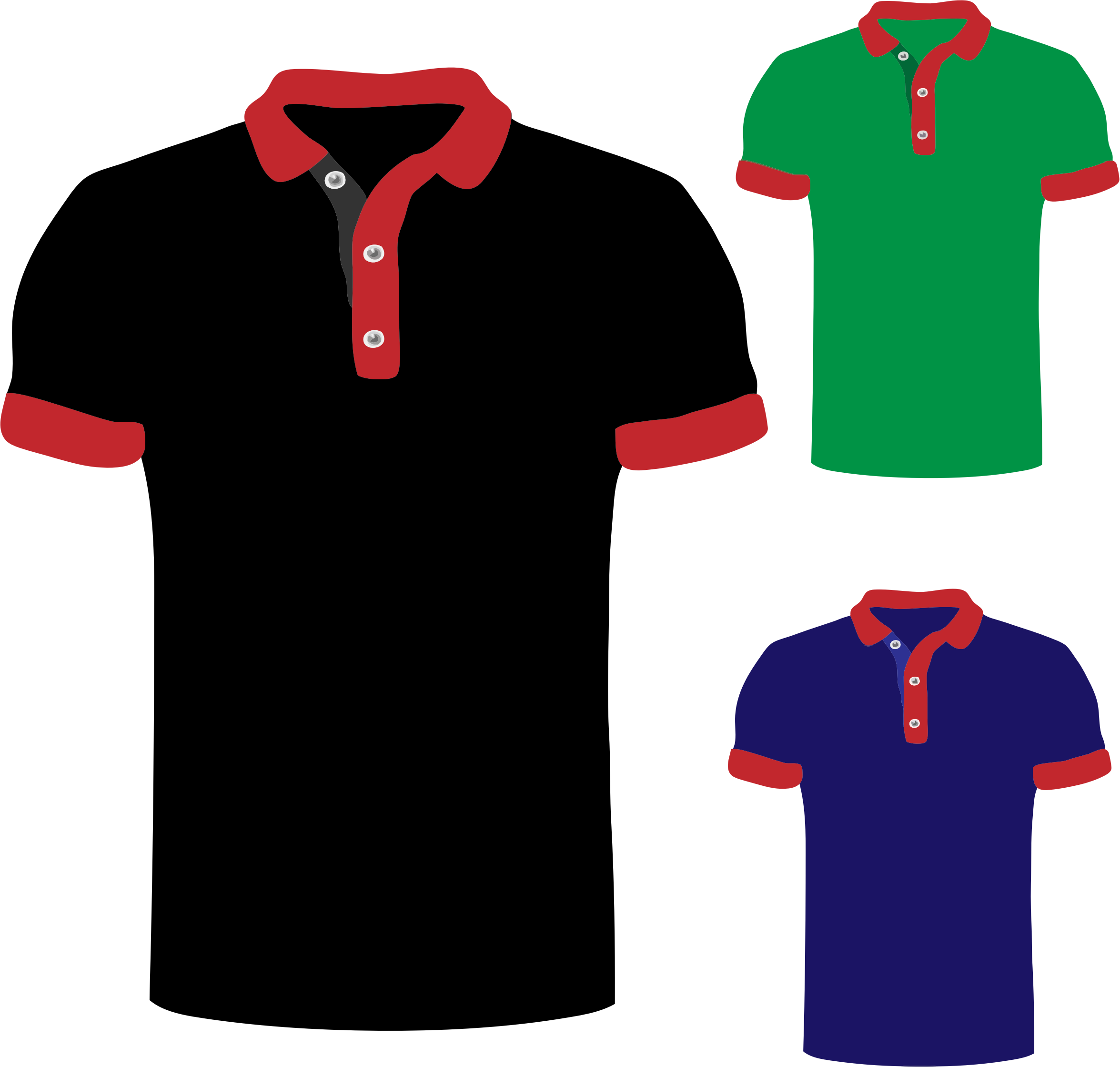 Clipart polo shirts for Polo t shirt design images