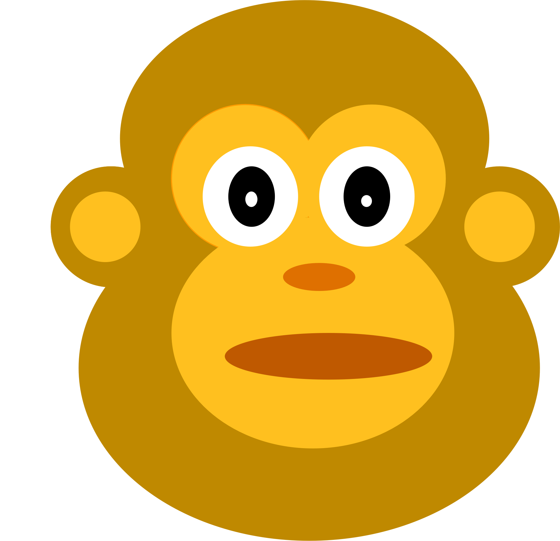 Monkey by chuajiahaomarcus
