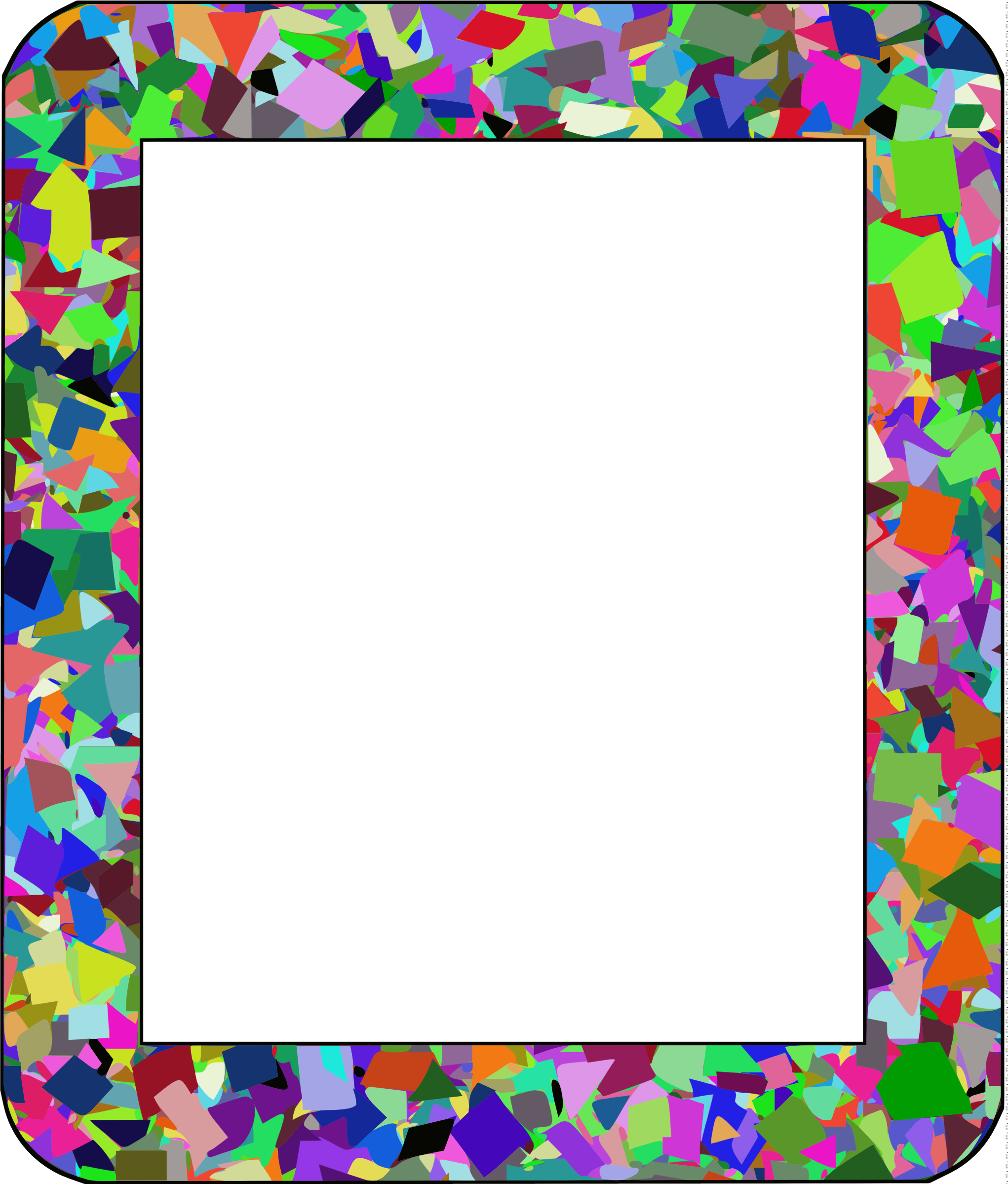 Confetti Frame 1 (Filesize Reduced Version) by GDJ