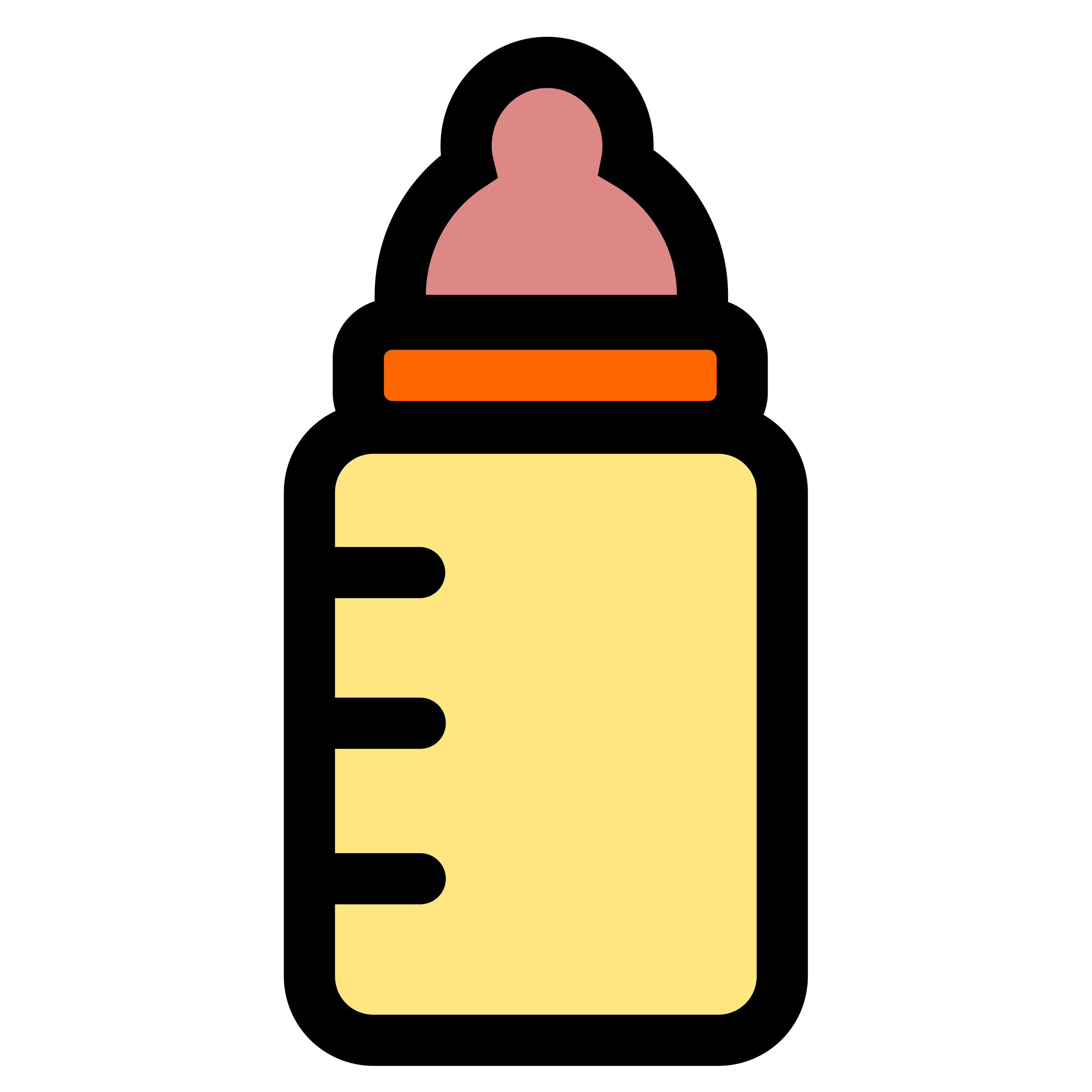 Baby bottle icon by pitr