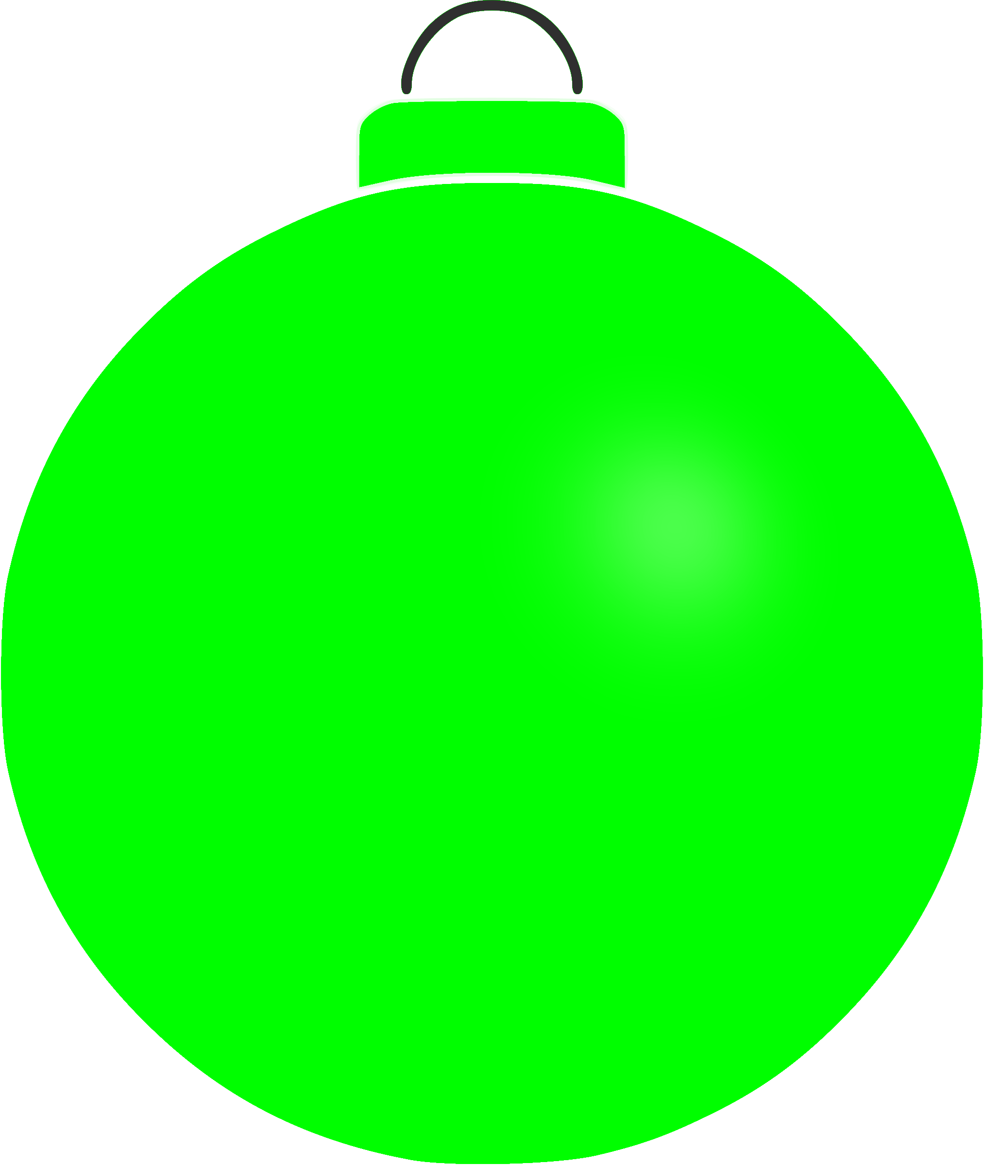 Plain bauble 3 by Firkin