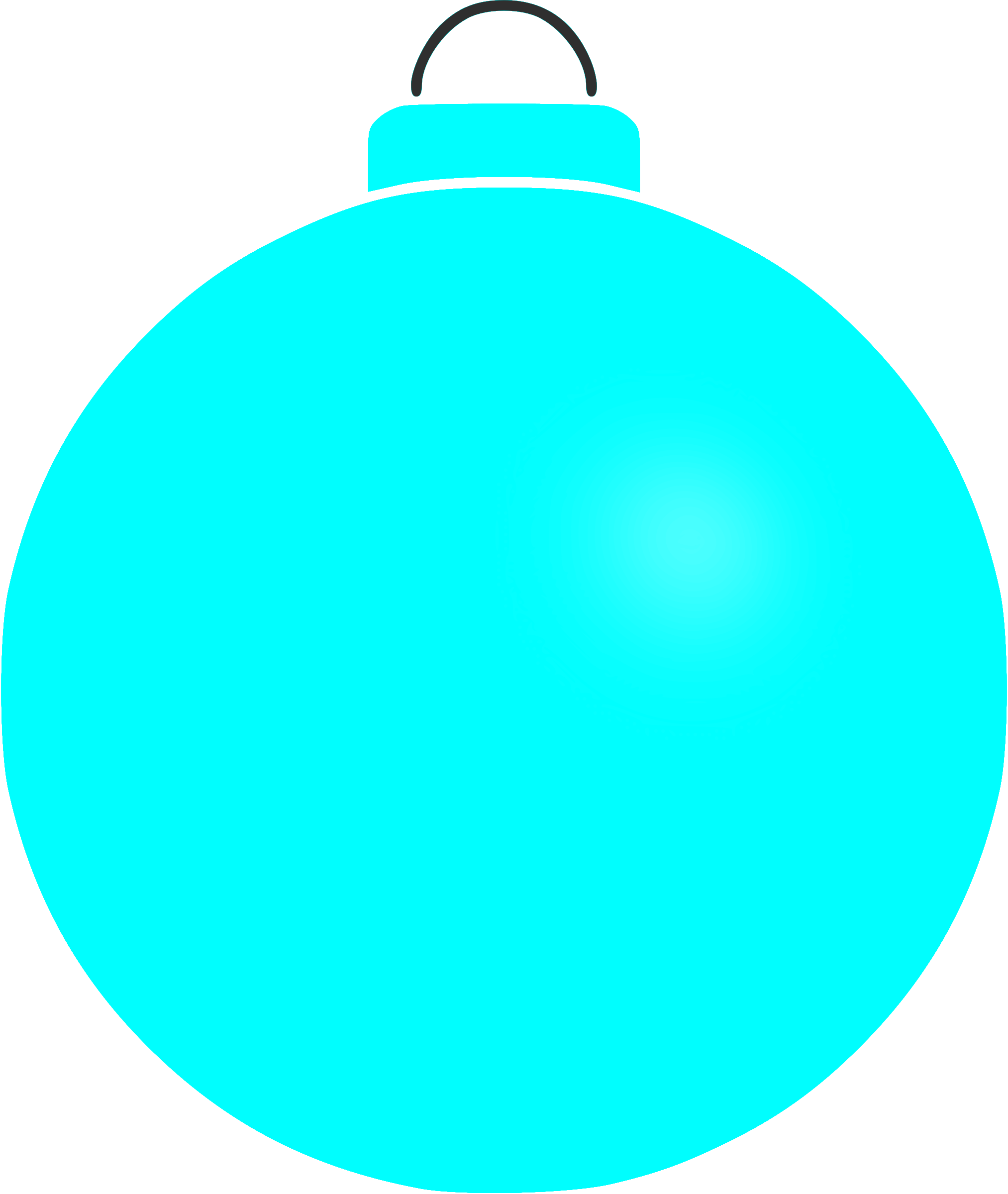 Plain bauble 4 by Firkin