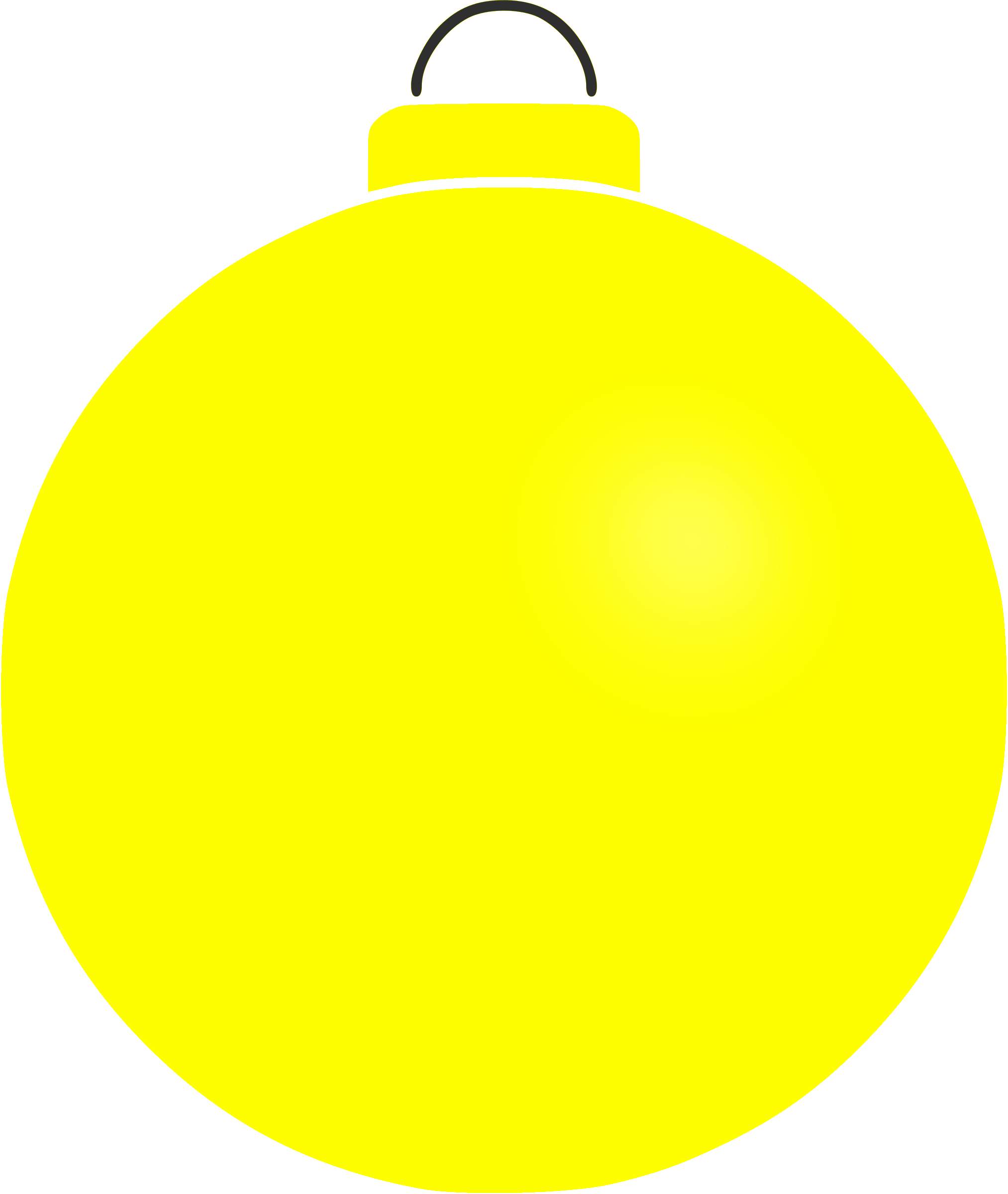 Plain bauble 6 by Firkin