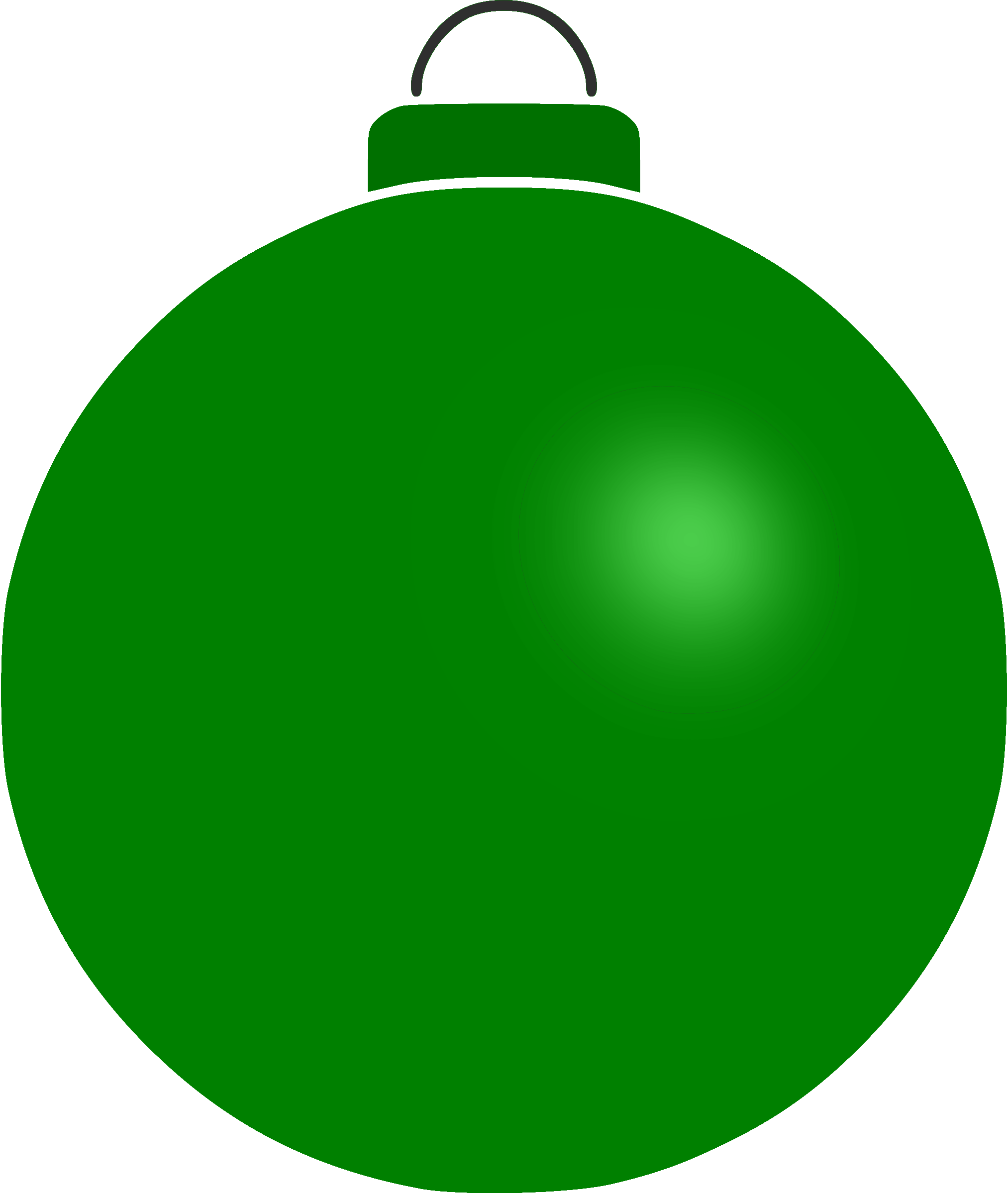 Plain bauble 10 by Firkin