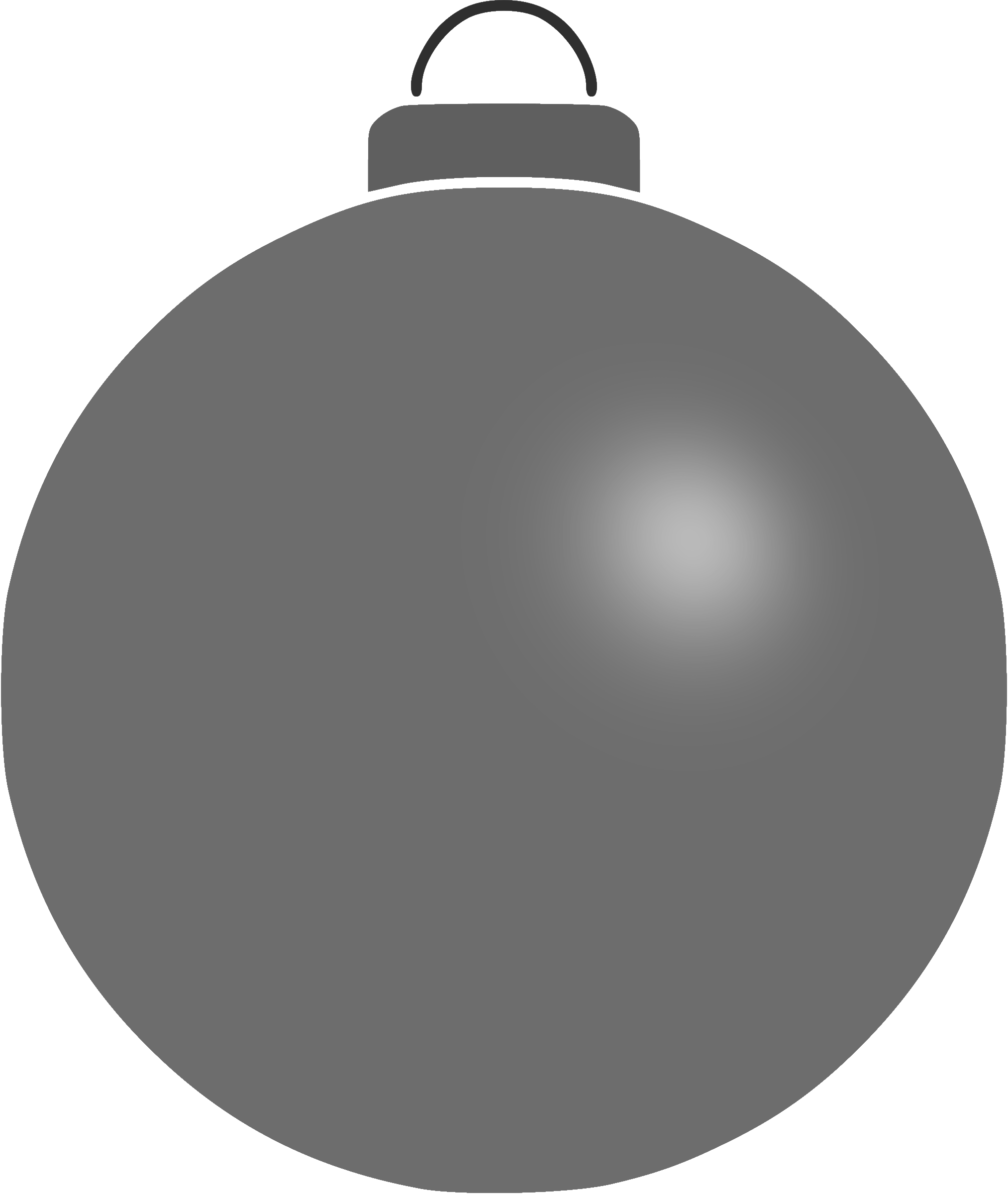 Plain bauble 13 by Firkin