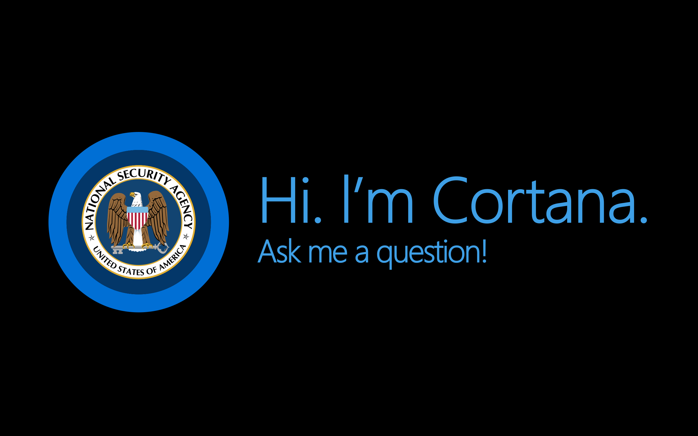 No Really I'm Cortana by GDJ