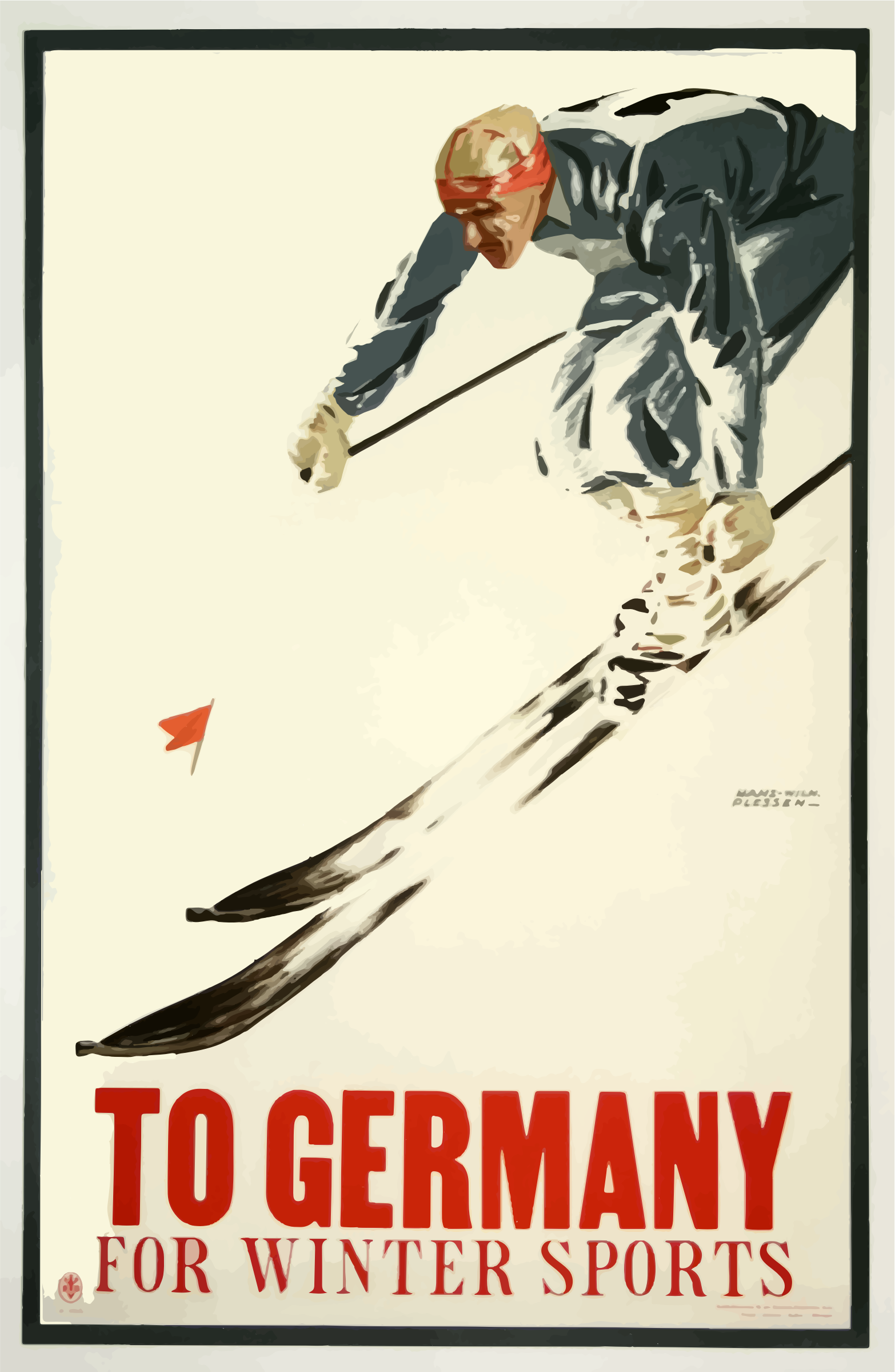 Vintage Travel Poster Germany 4 by GDJ