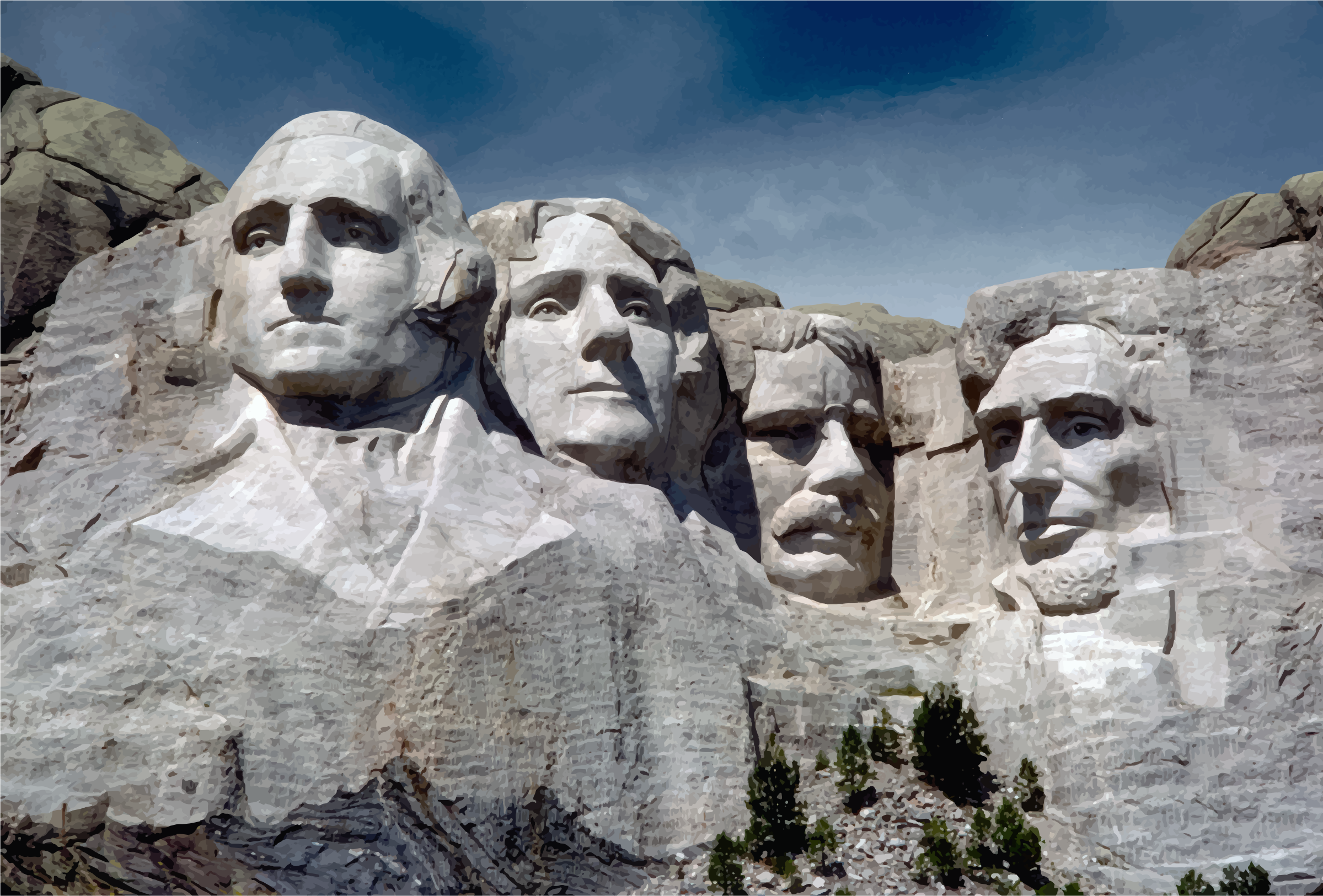 Mount Rushmore National Memorial by GDJ