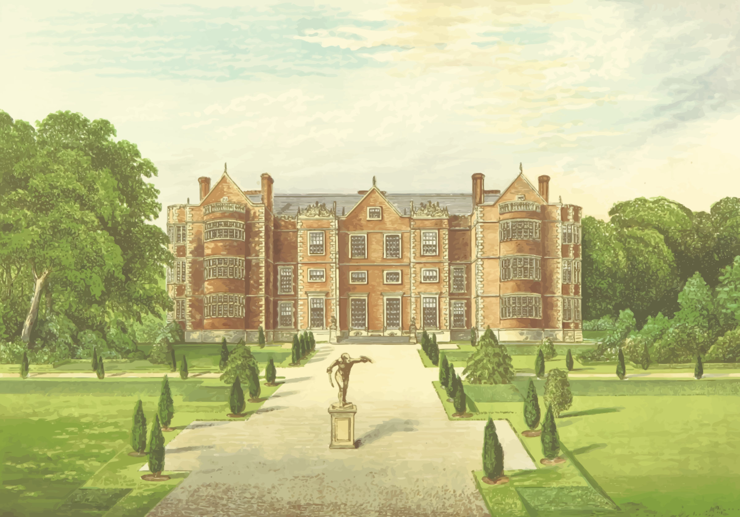 Burton Agnes Hall by Firkin