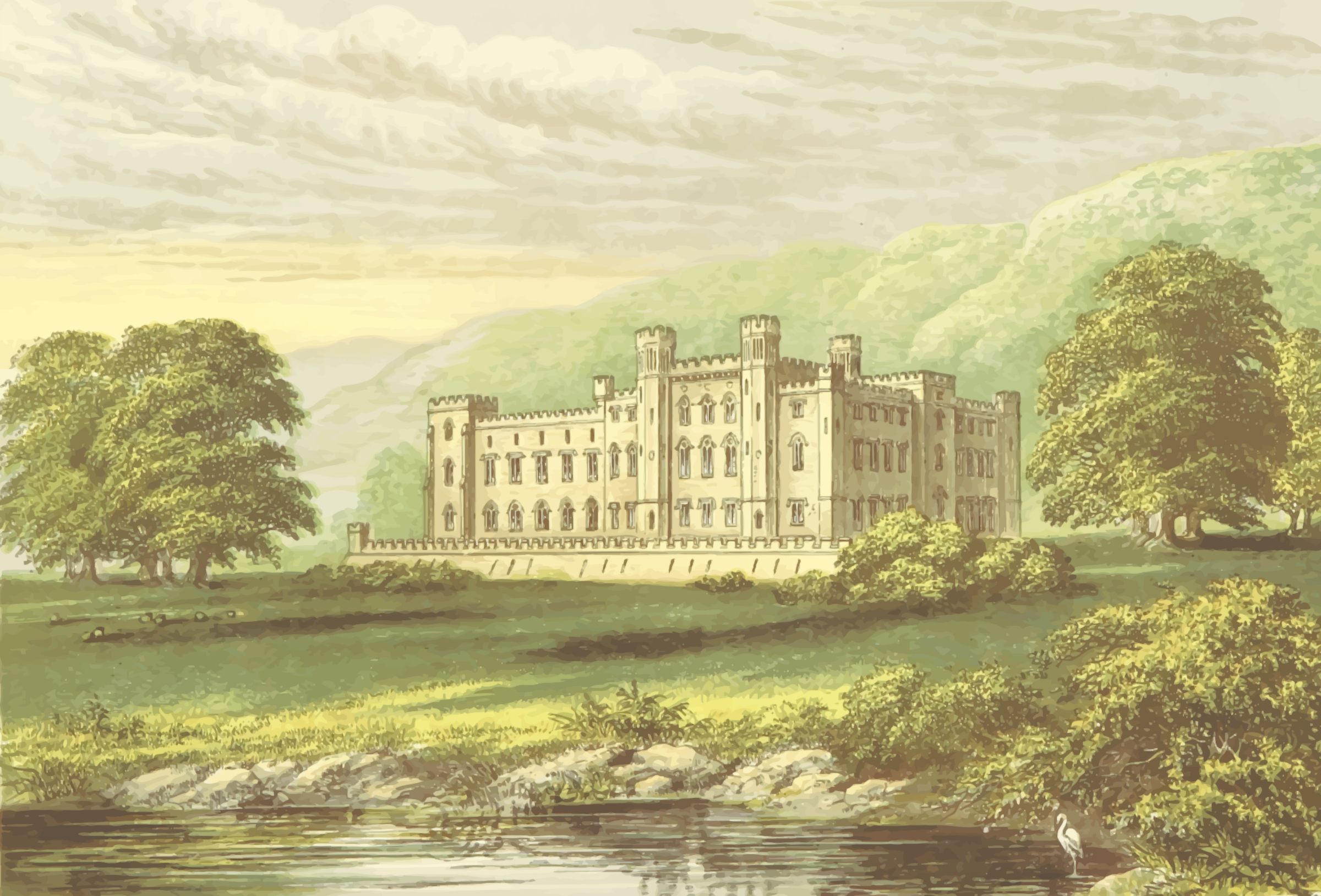Scone Palace by Firkin