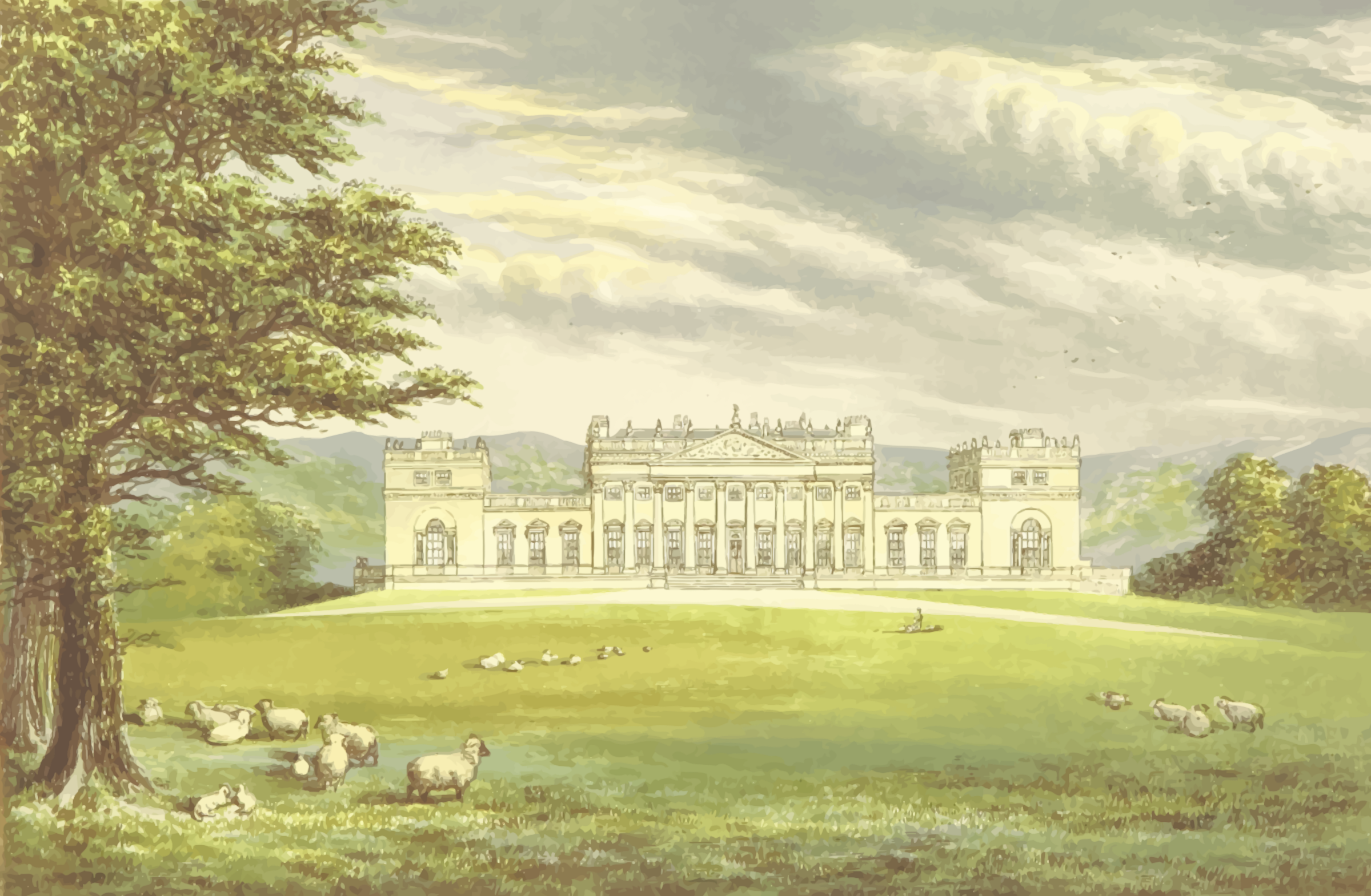 Harewood House by Firkin