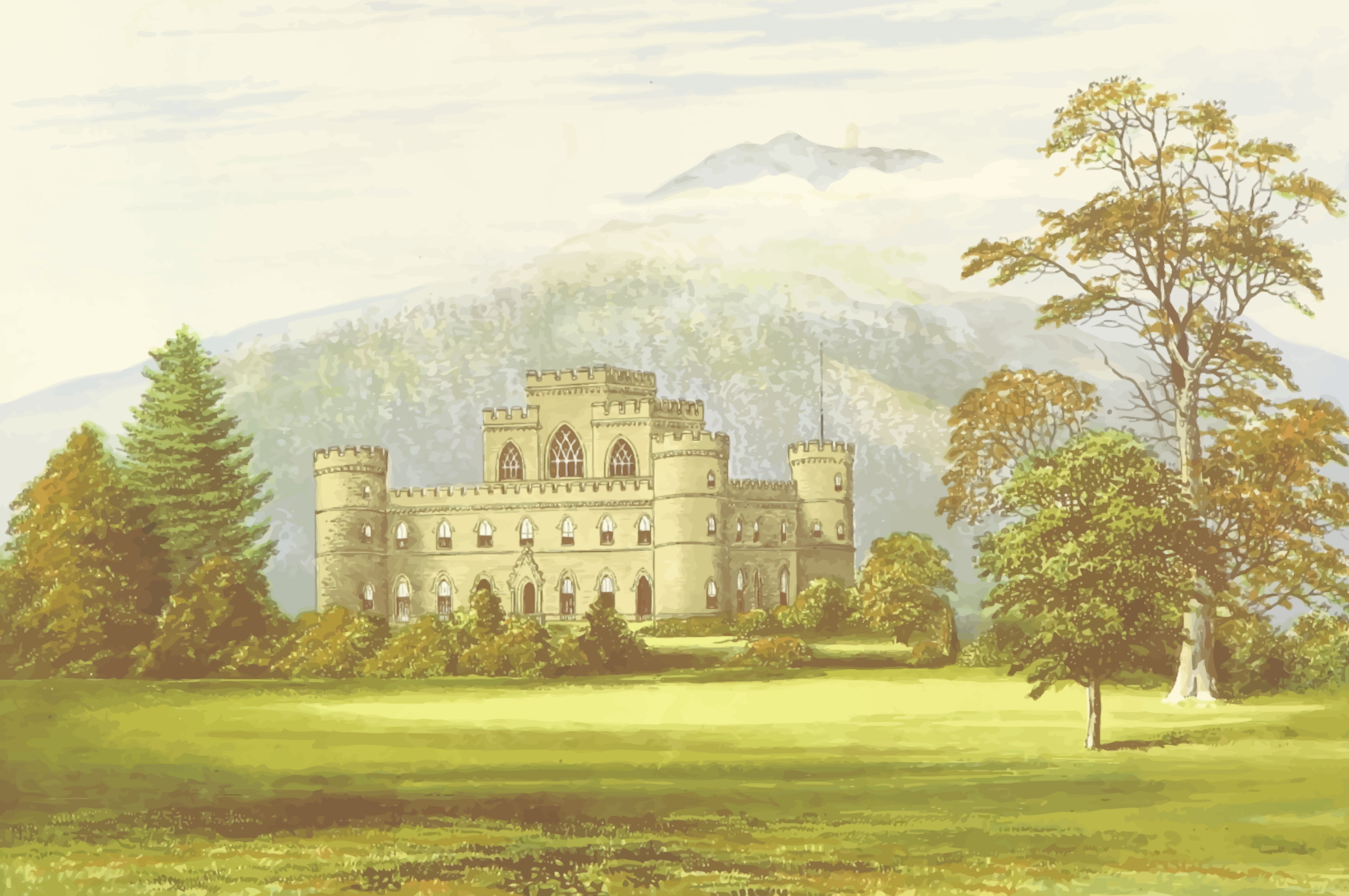 Inverary Castle by Firkin