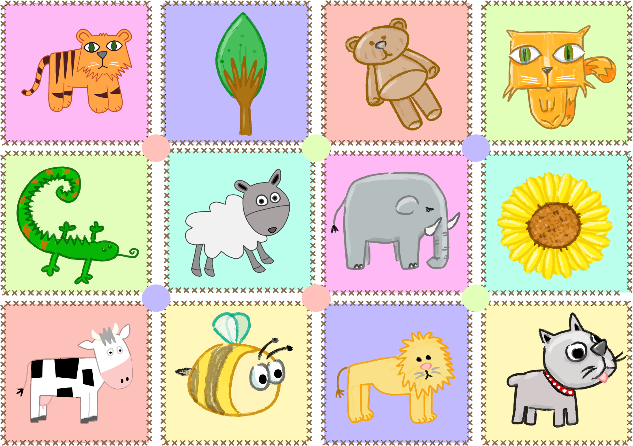 Kid's Animals by GDJ