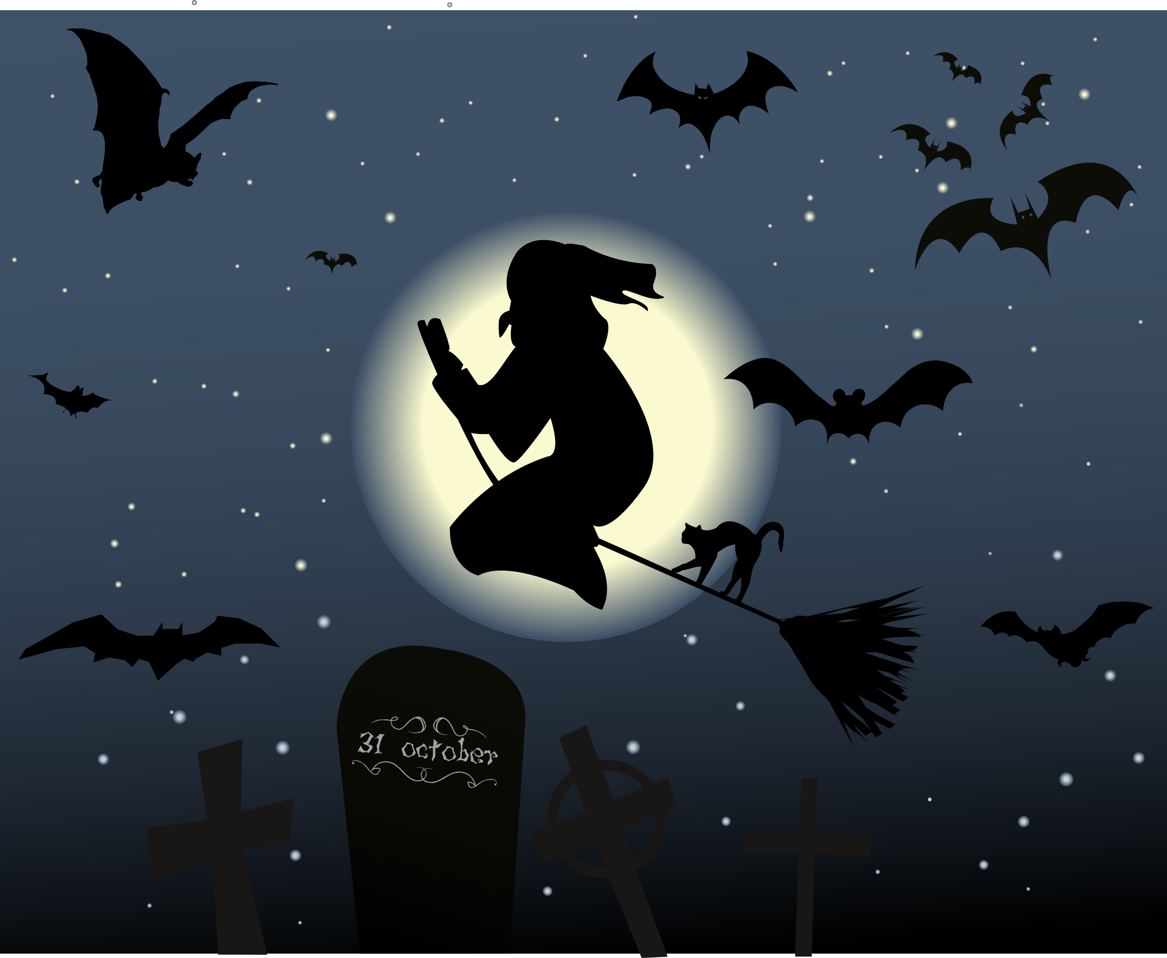 Clipart - Halloween Background