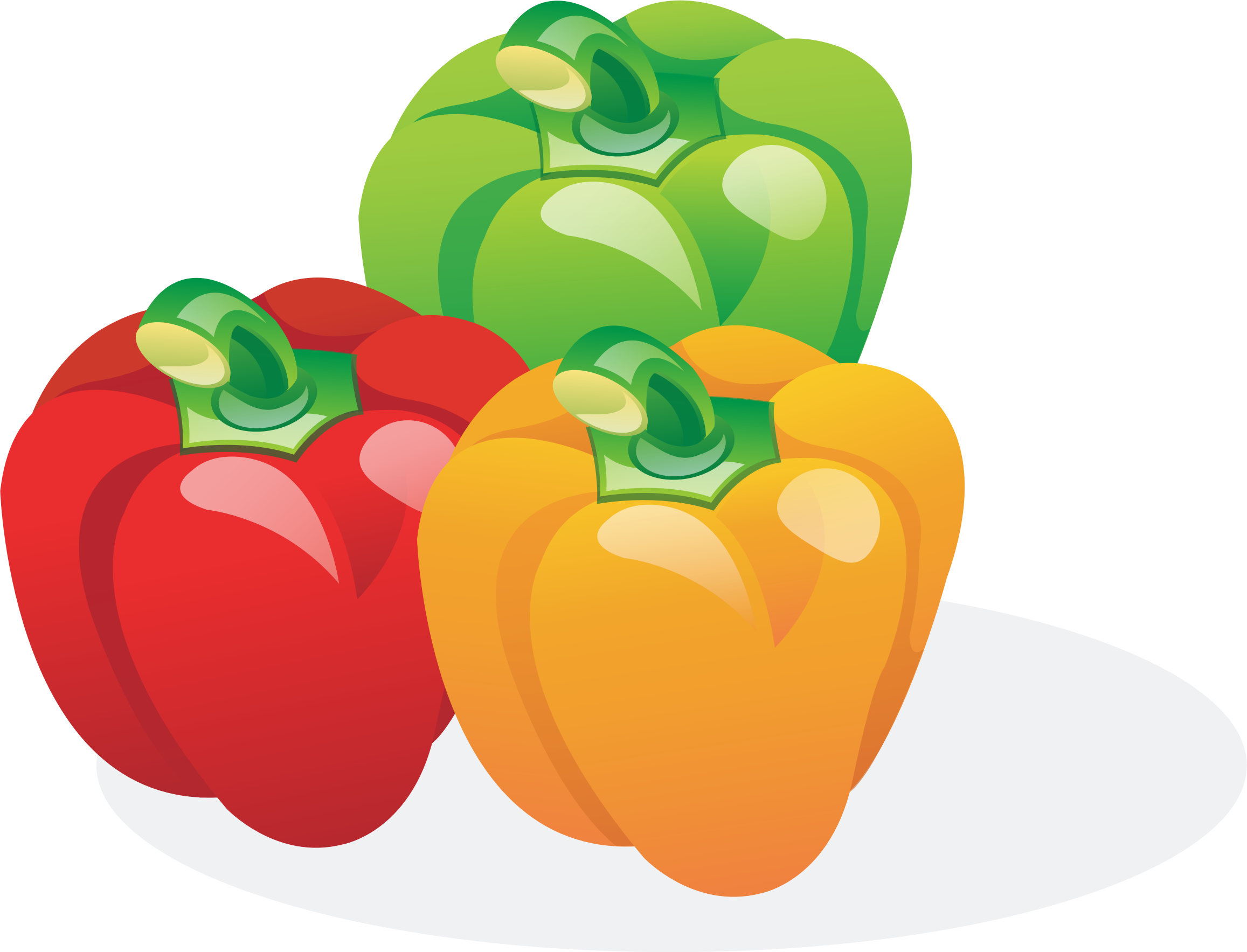 Multicolored Bell Peppers by GDJ