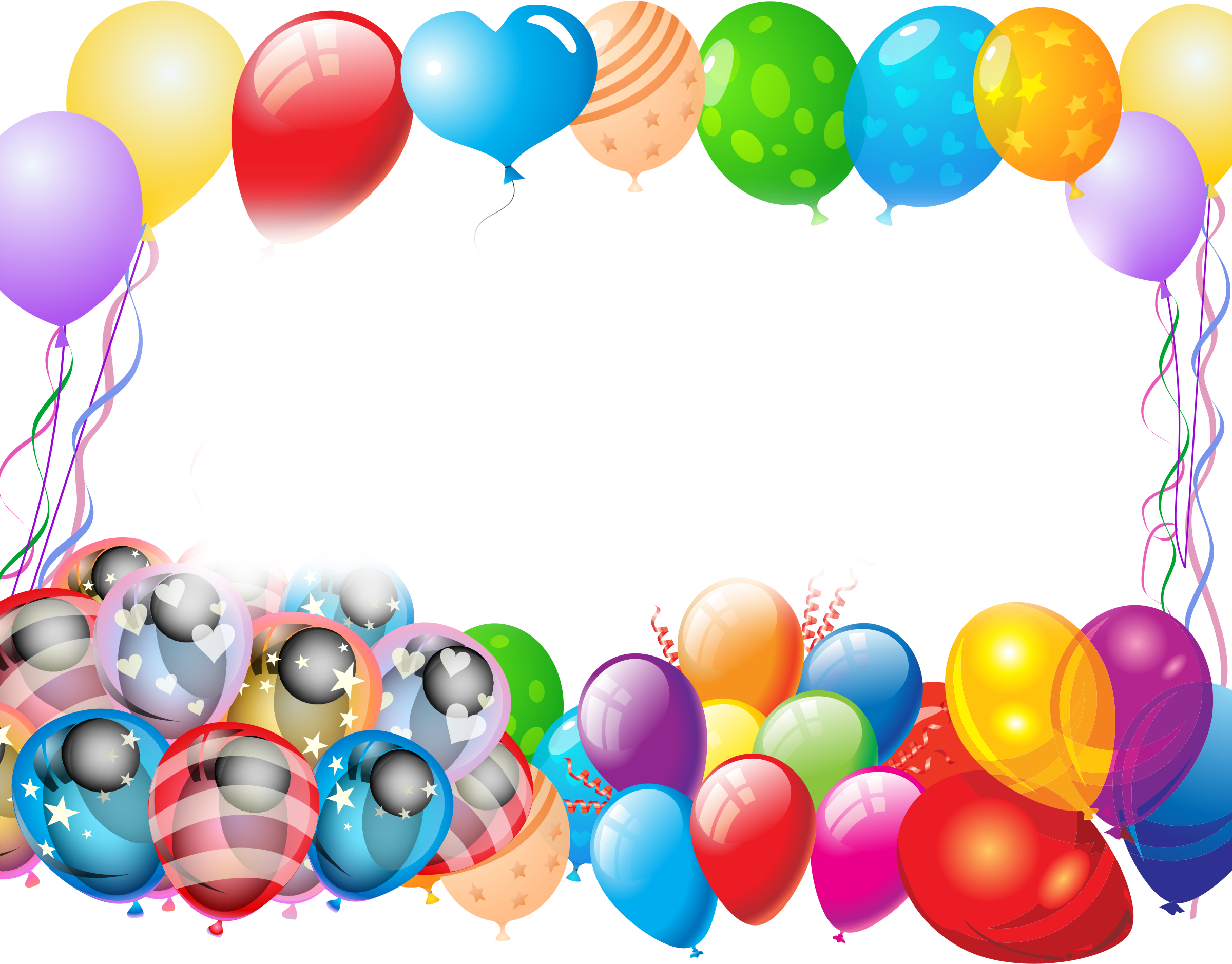 Colorful Party Balloons by GDJ