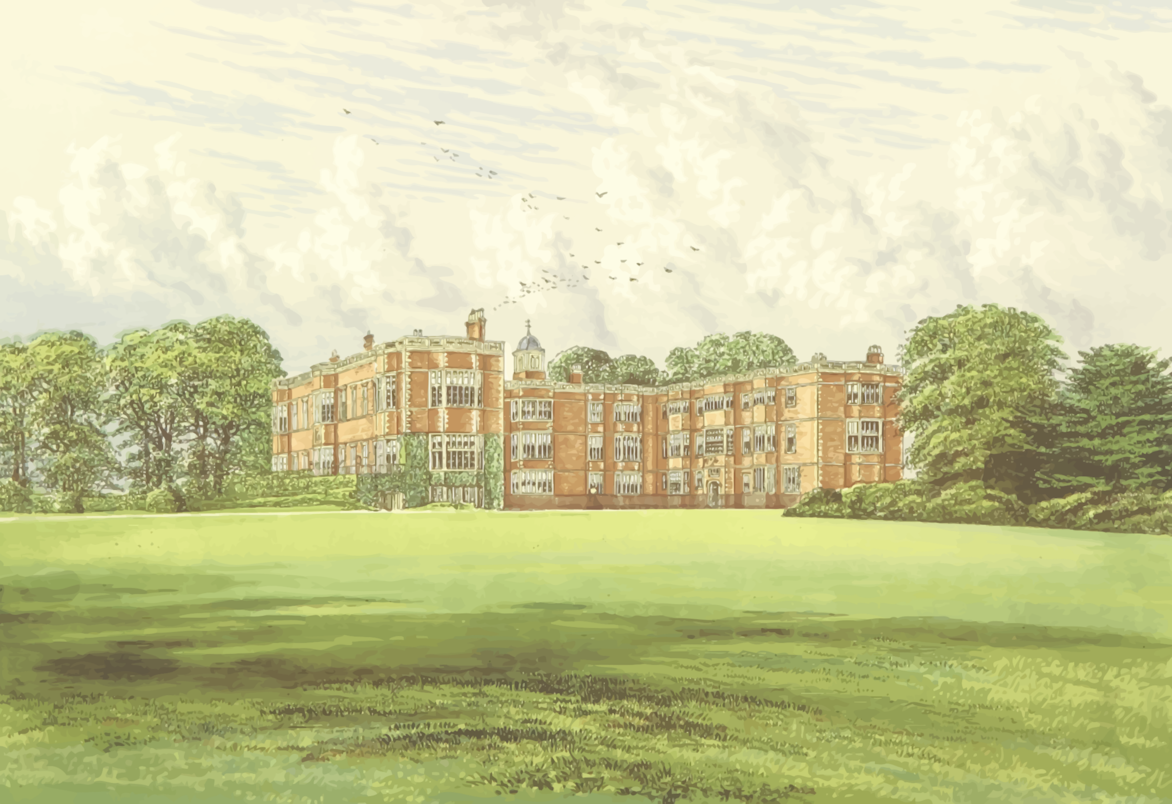 Temple Newsam by Firkin
