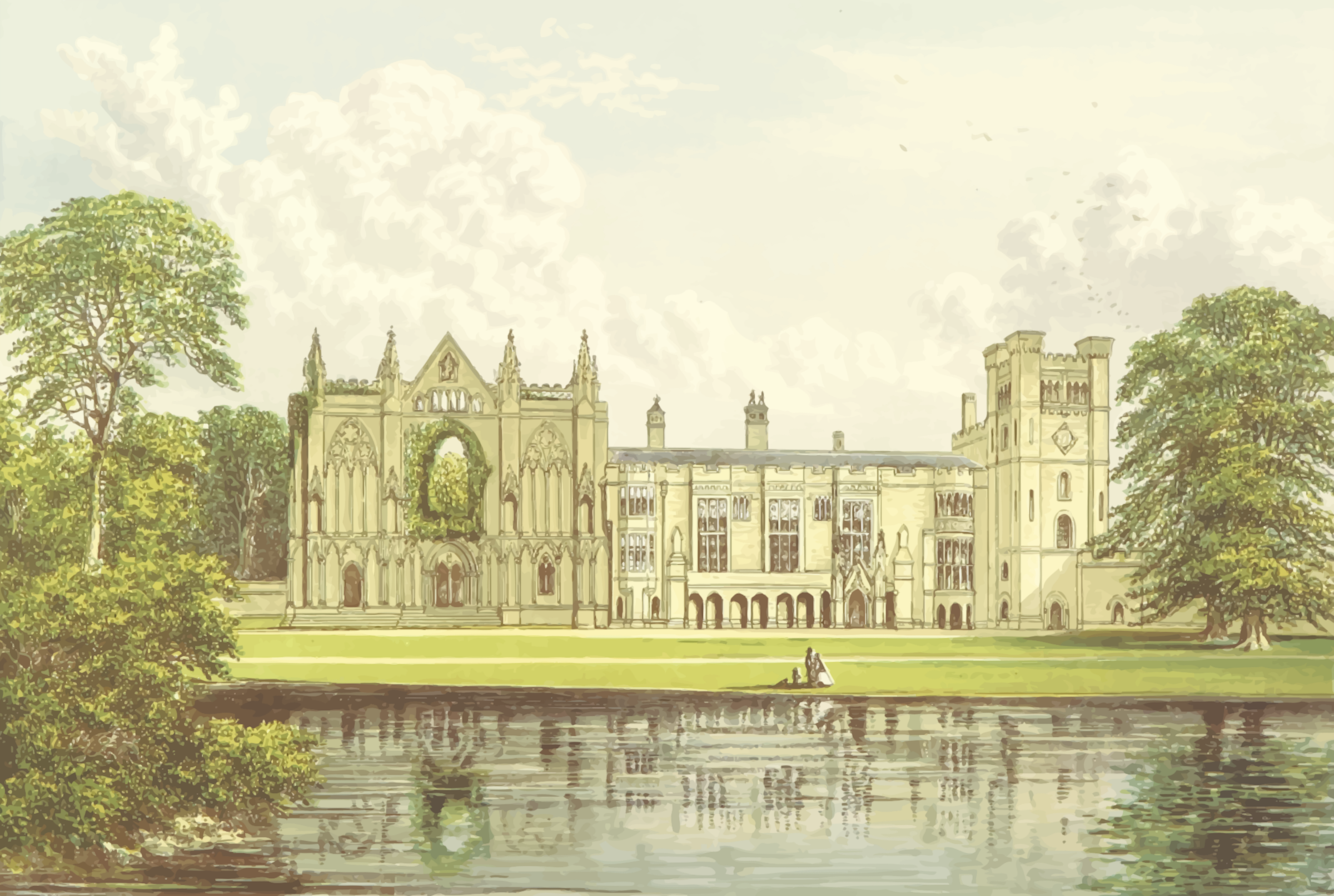 Newstead Abbey by Firkin