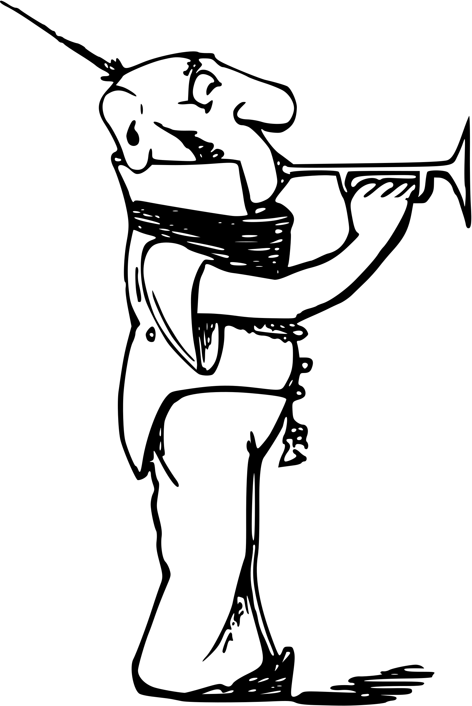 Comic character 62 by Firkin