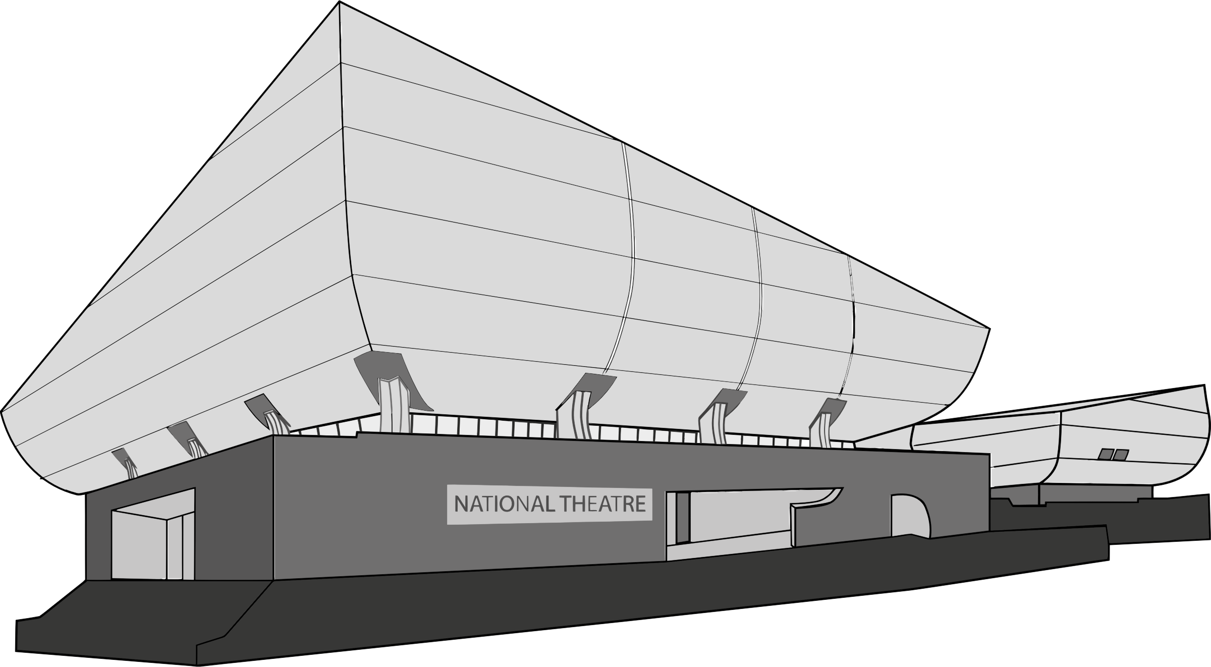 National Theatre by GDJ