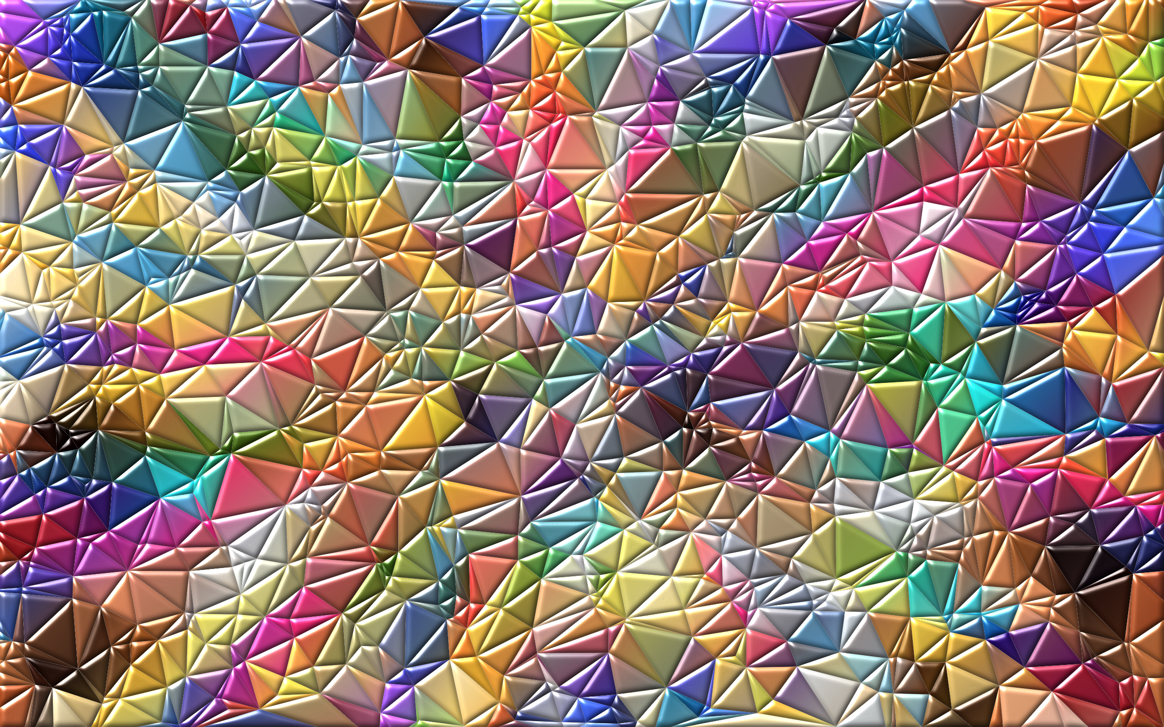 Colorful Low Poly Wallpaper Enhanced 2 by GDJ