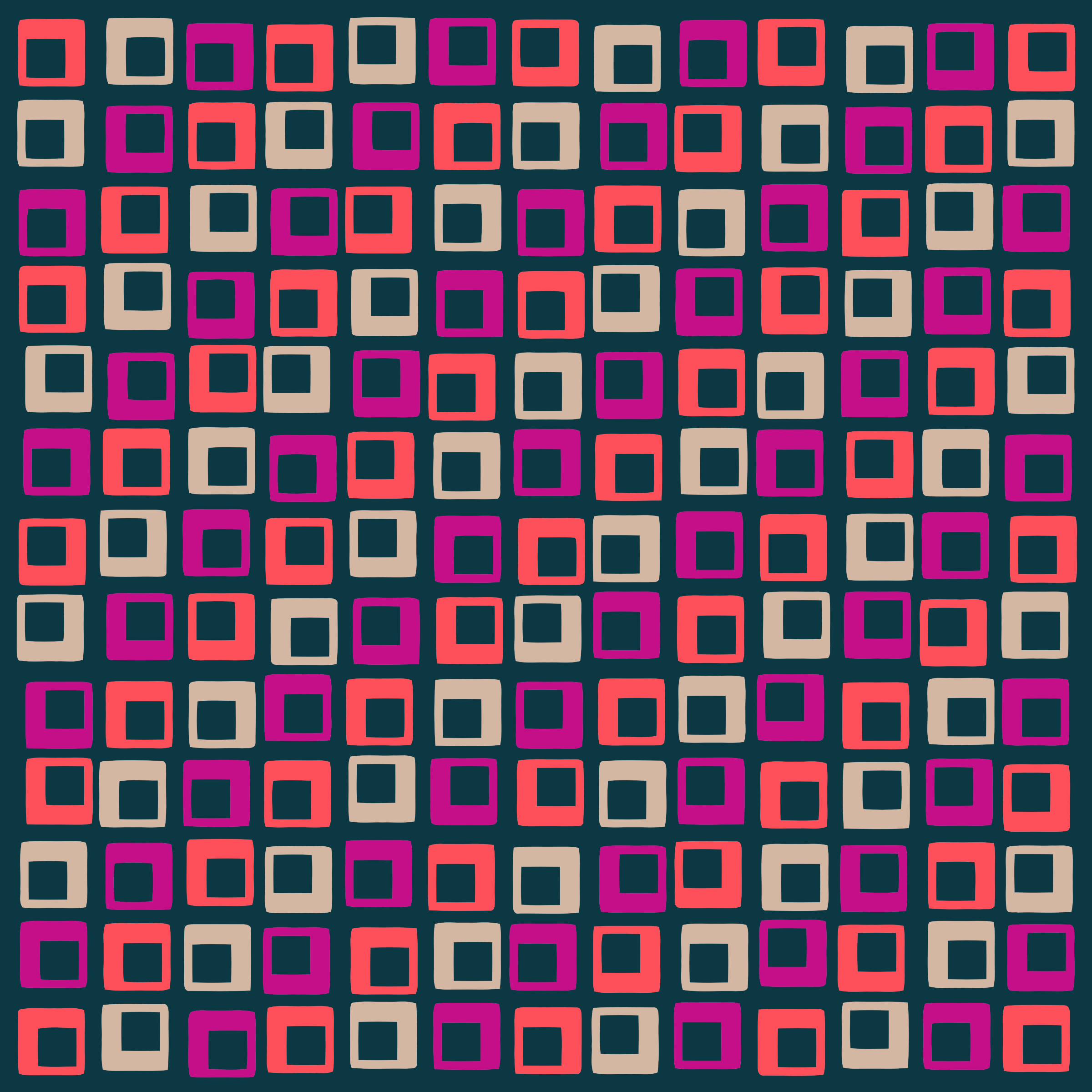 Abstract Squares 2 by GDJ