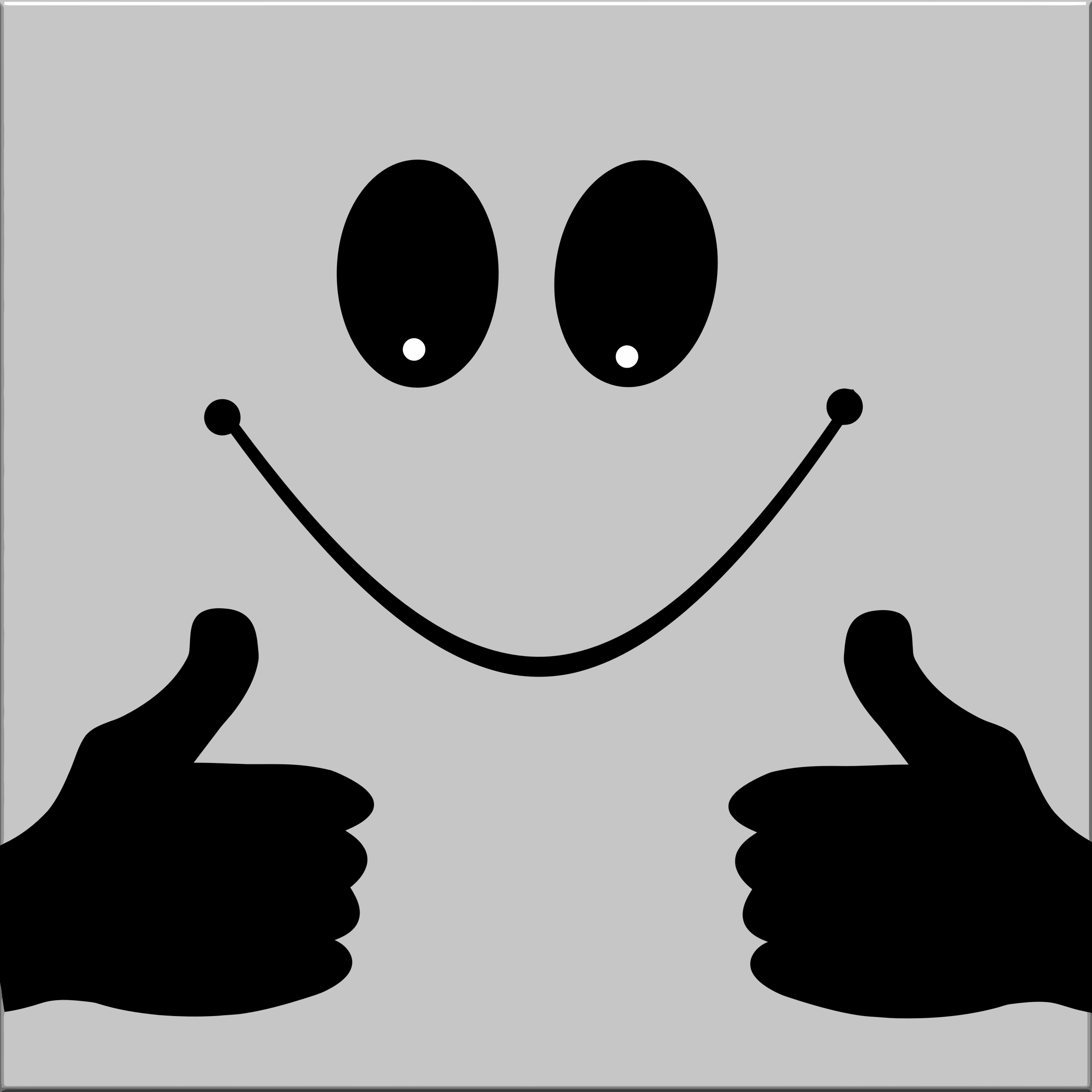 Thumbs Up Smiley Face by GDJ