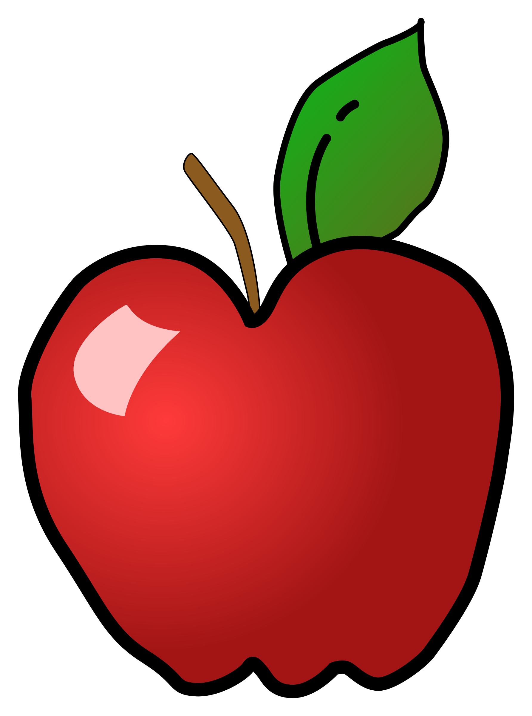 Polished Apple by KAMC